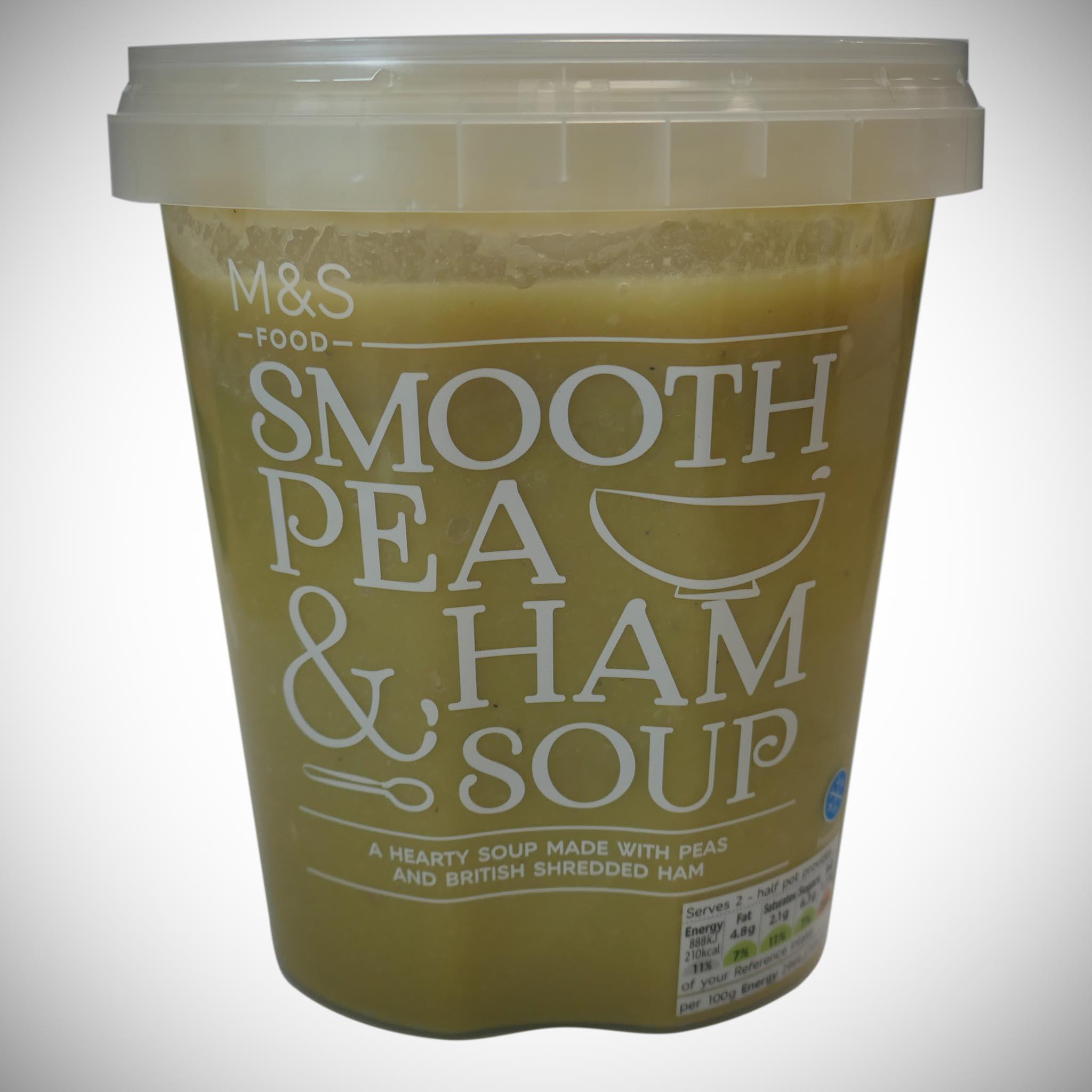 Smooth Pea & Ham Soup 600g