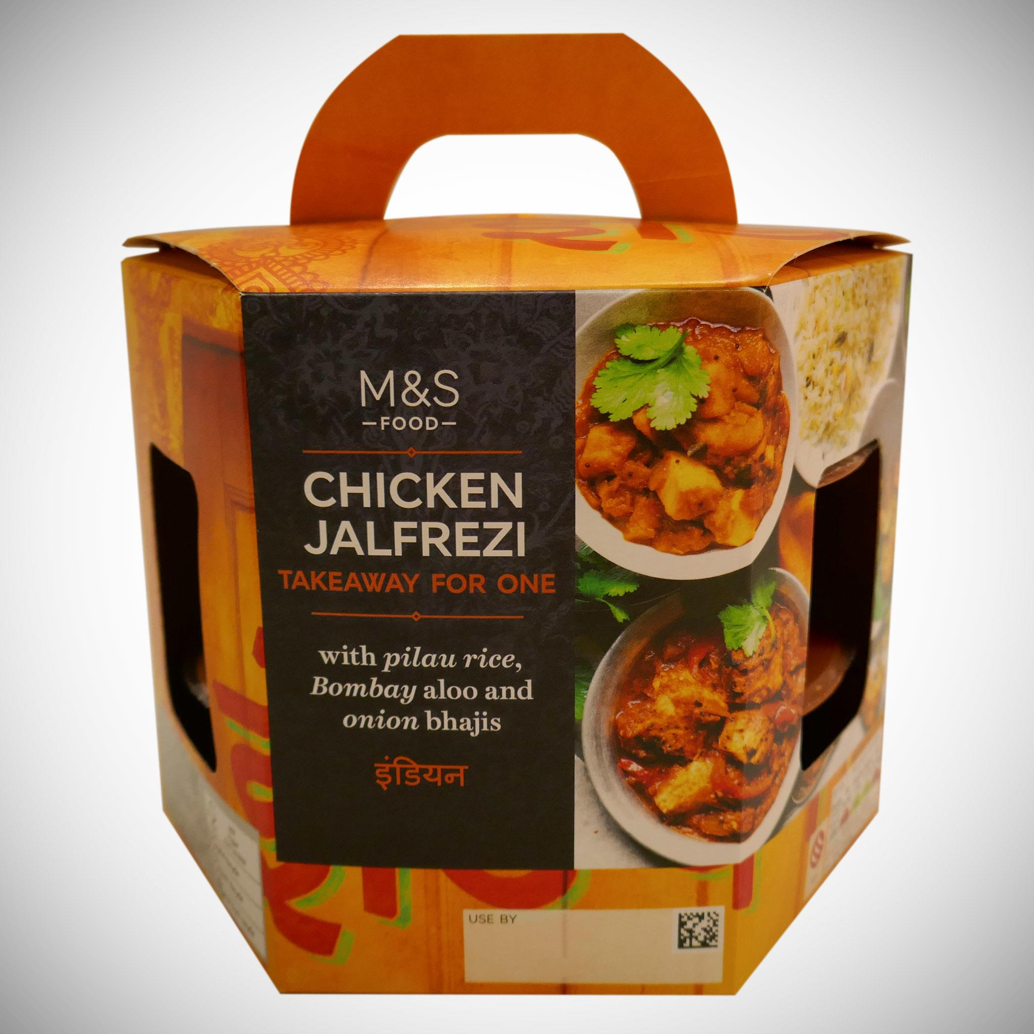 Chicken Jalfrezi Takeaway For One 550g