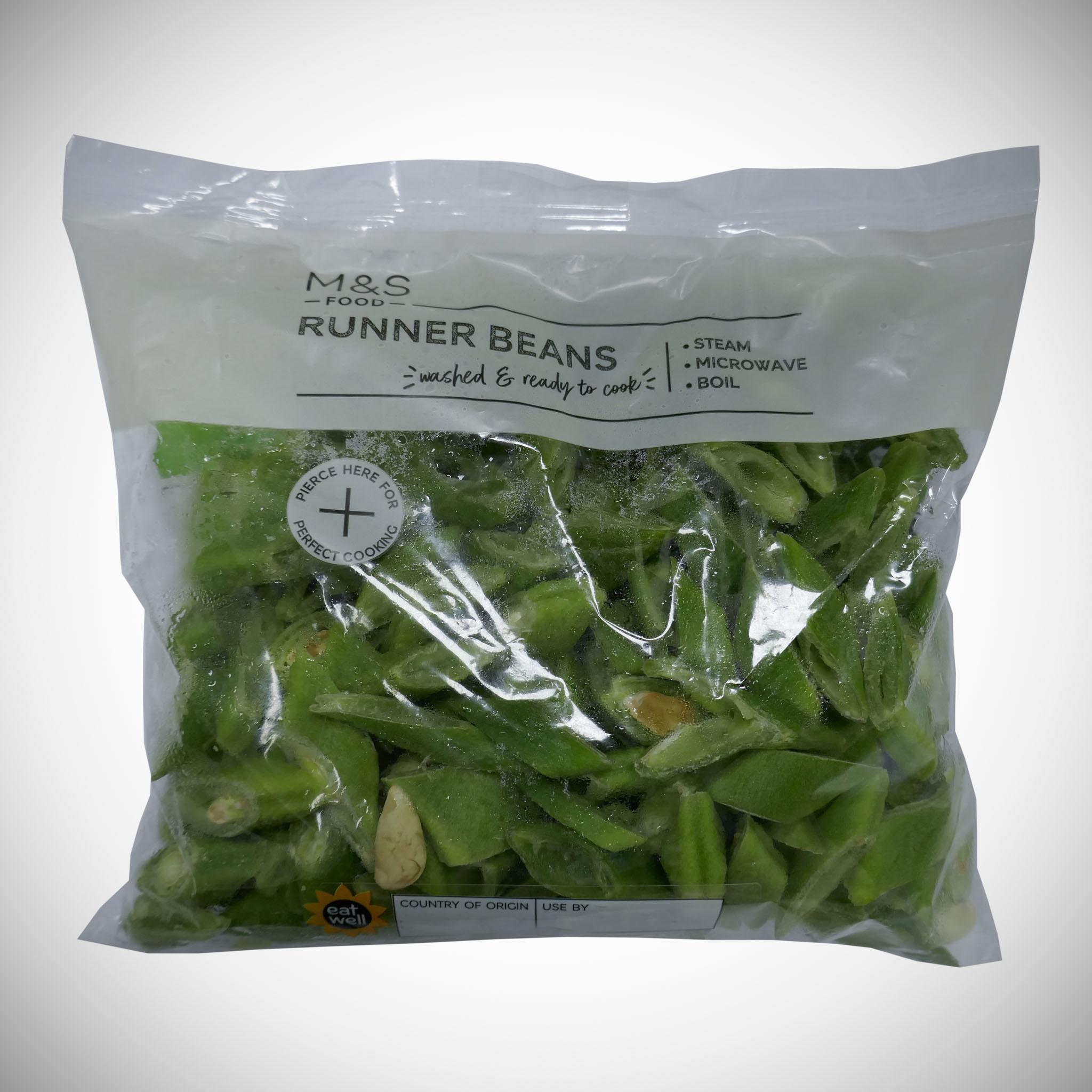 Sliced Runner Beans Large Pack 320g