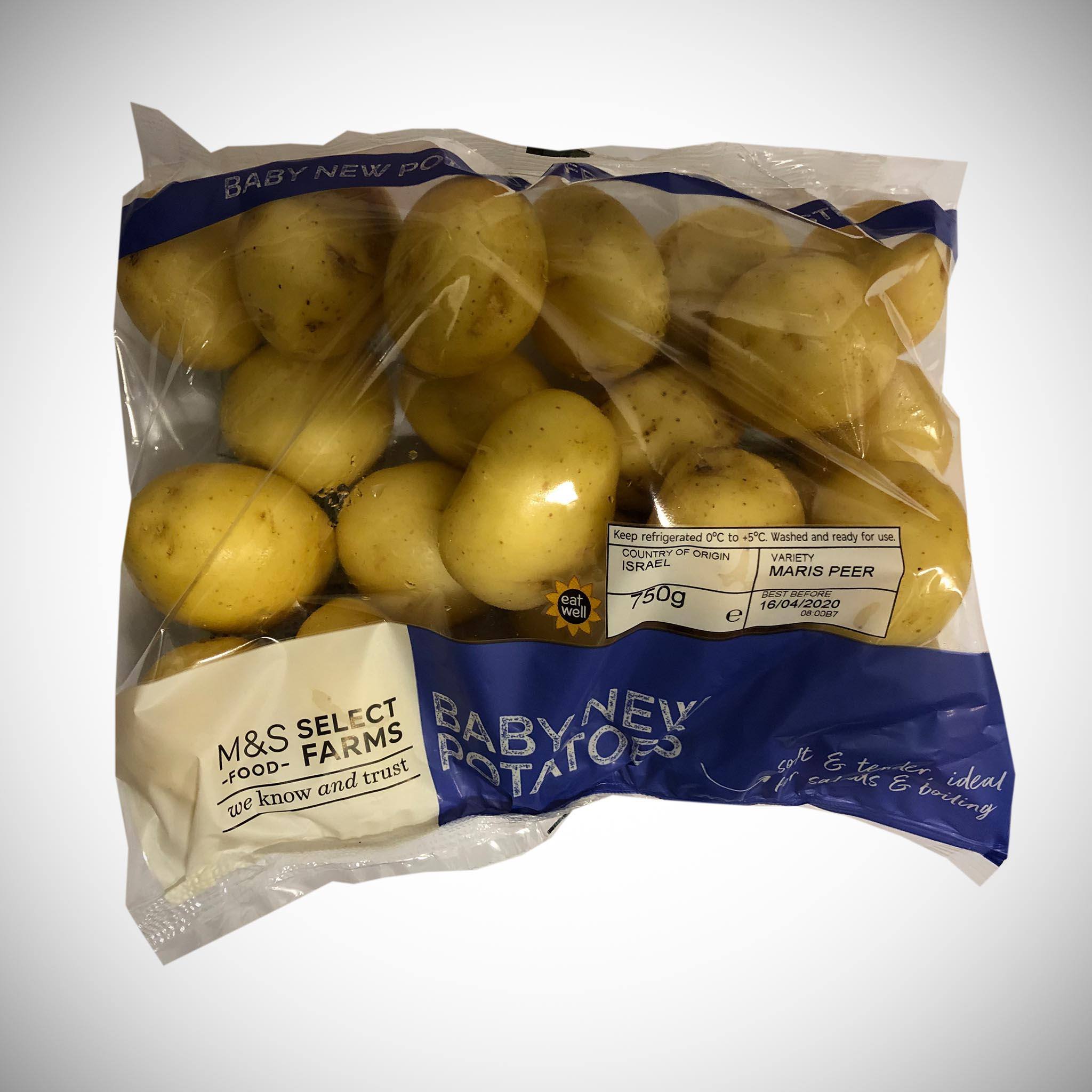 Baby New Potatoes 750g