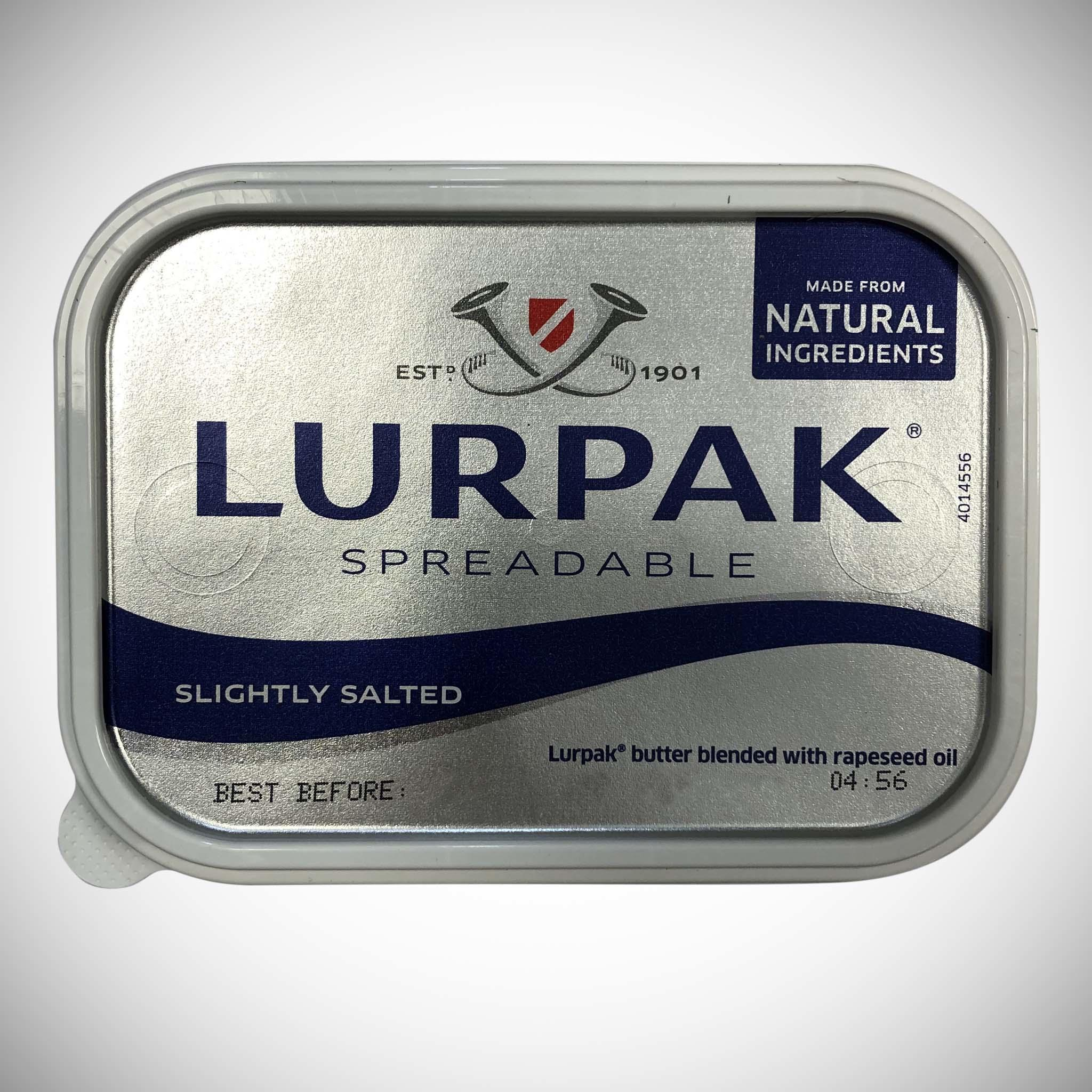 Lurpack Slightly Salted Front