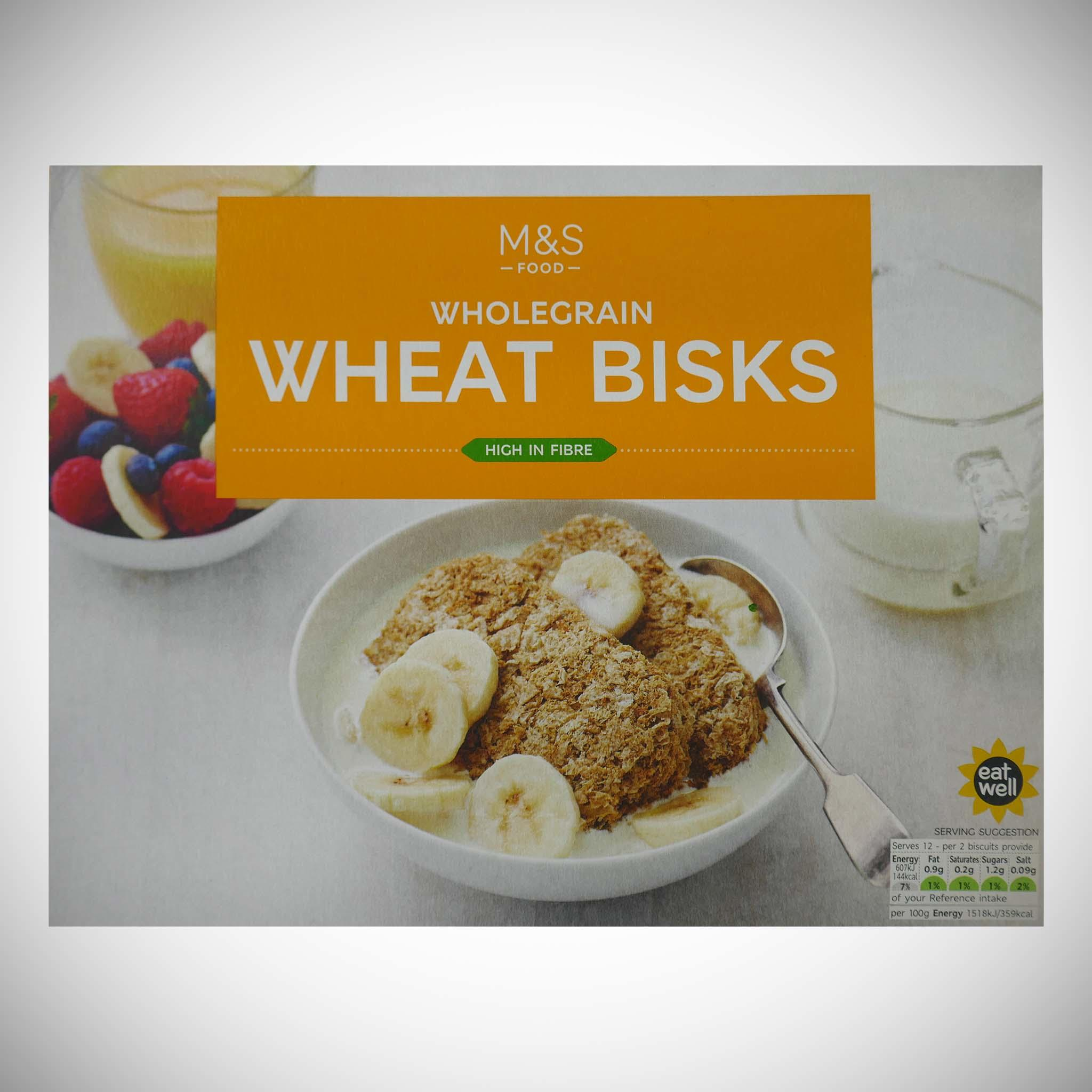 Wholegrain Wheat Bisks
