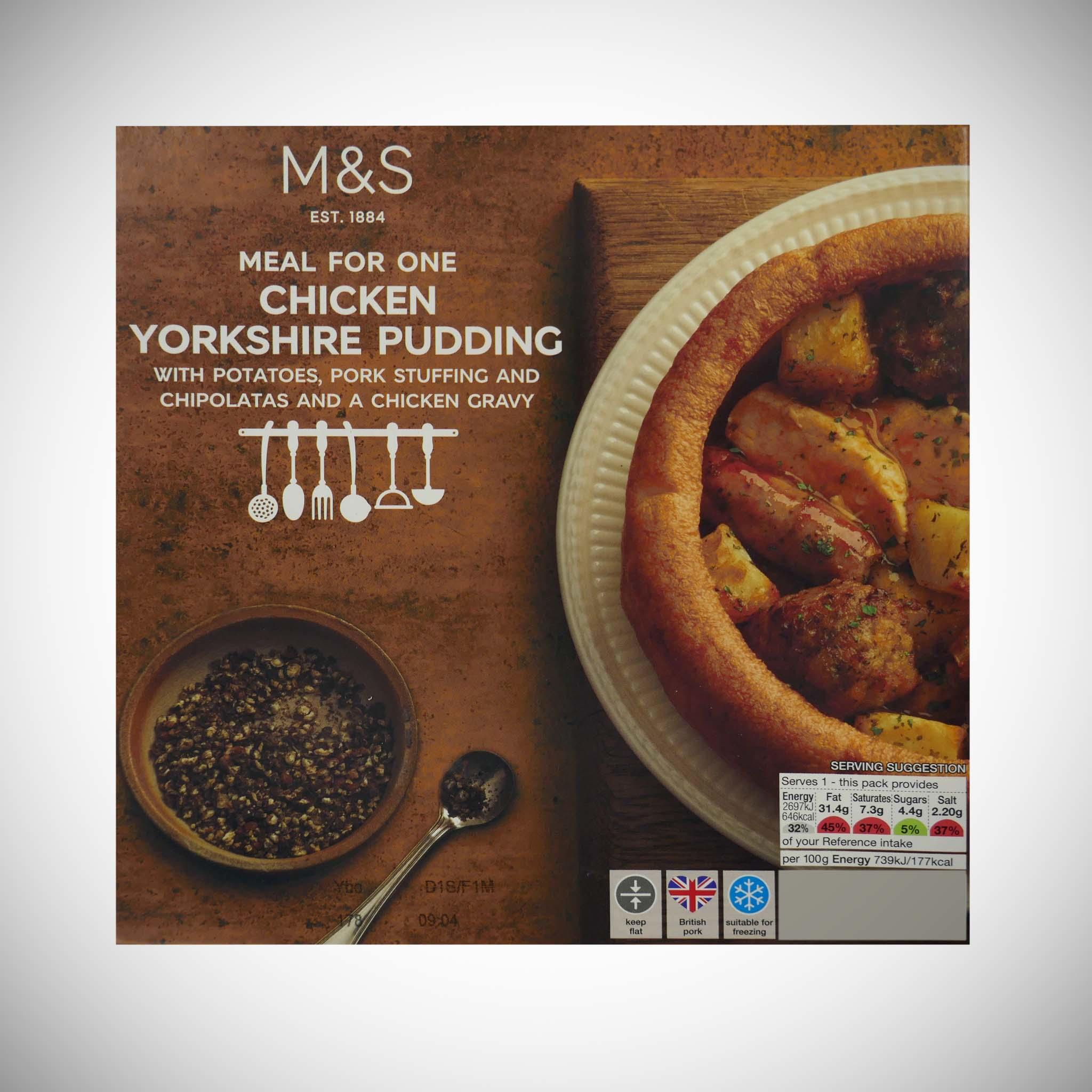 Roast Chicken Filled Yorkshire Pudding 365g
