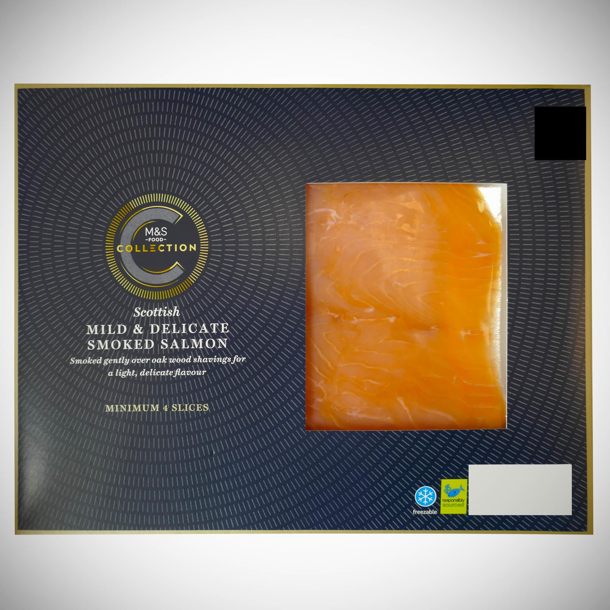 Mild & Delicate Scottish Lochmuir Smoked Salmon 100g