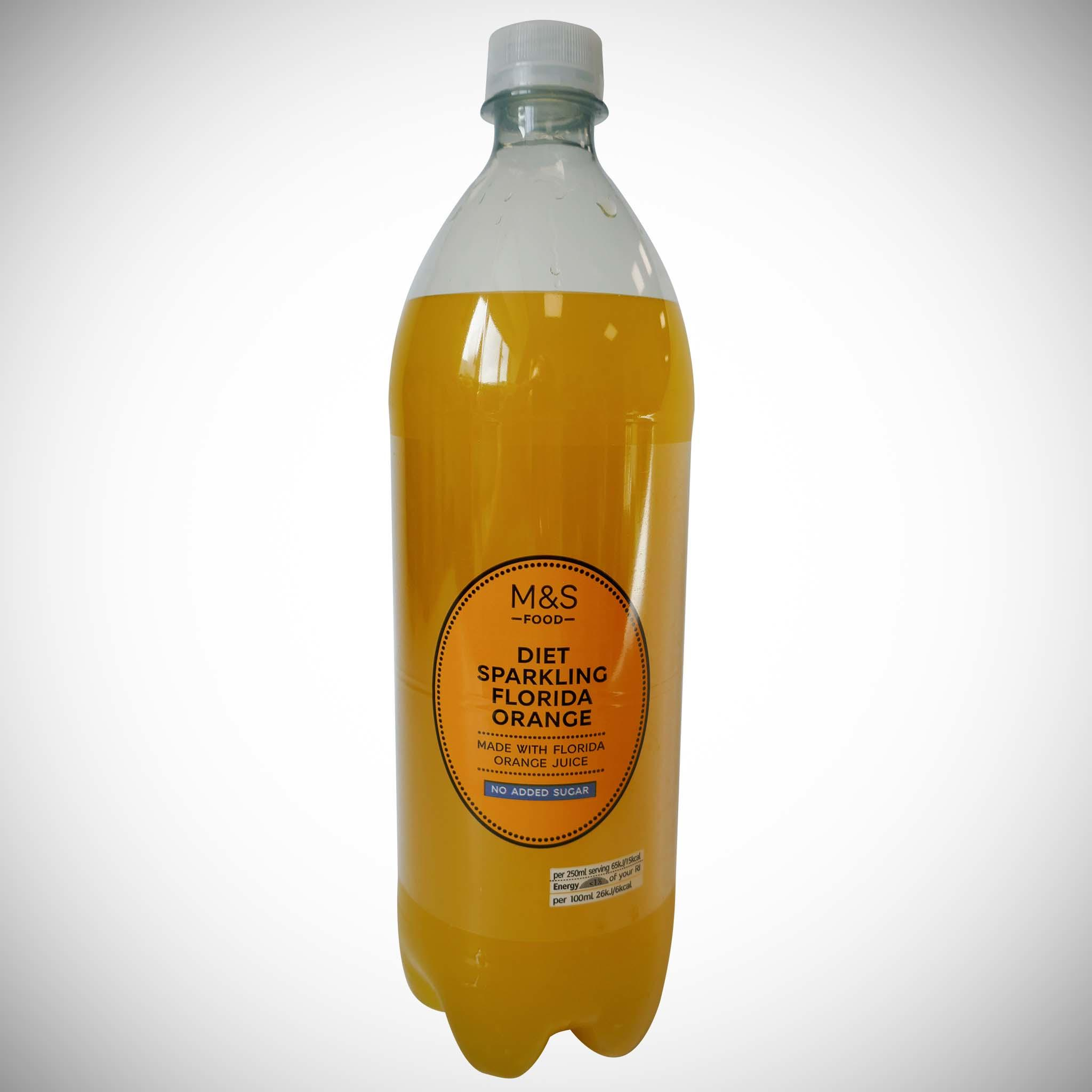 Diet Sparkling Orange 1l
