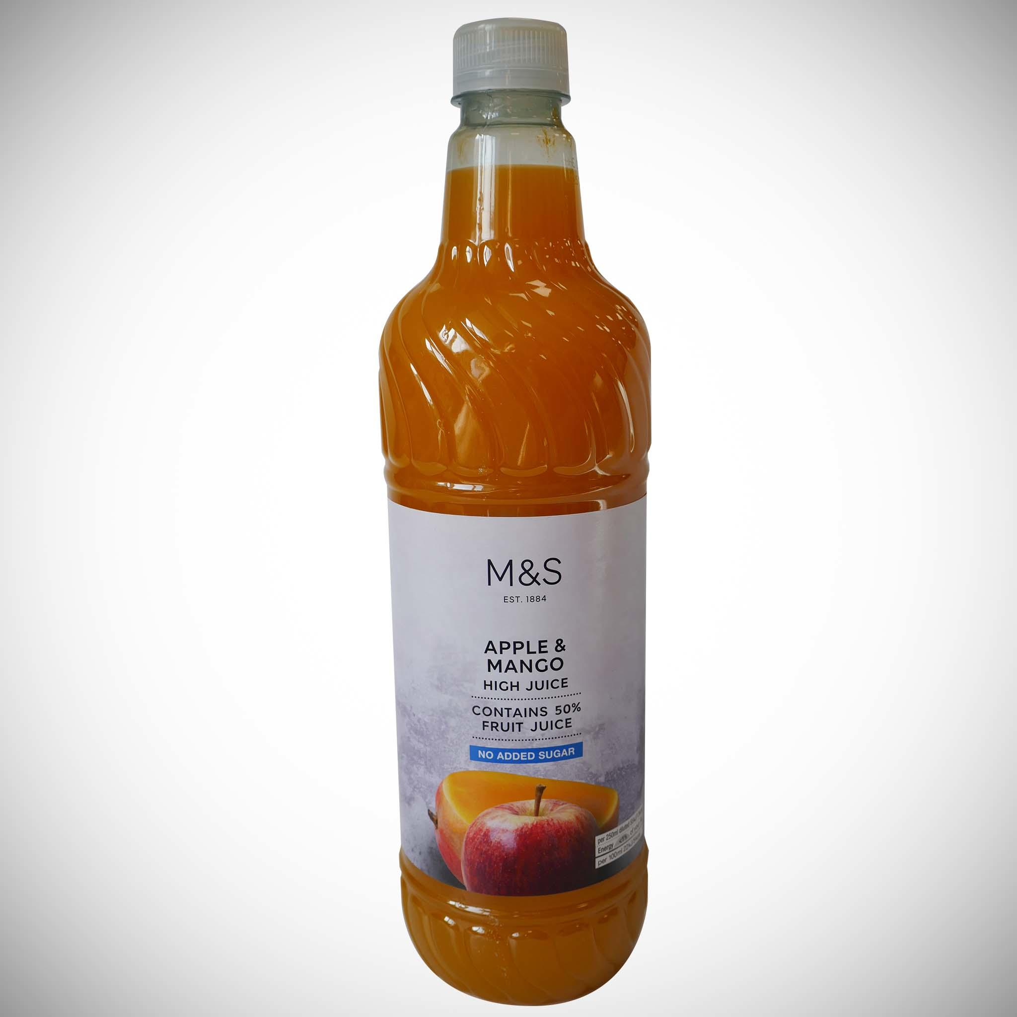Apple & Mango High Juice (No Added Sugar) 1l