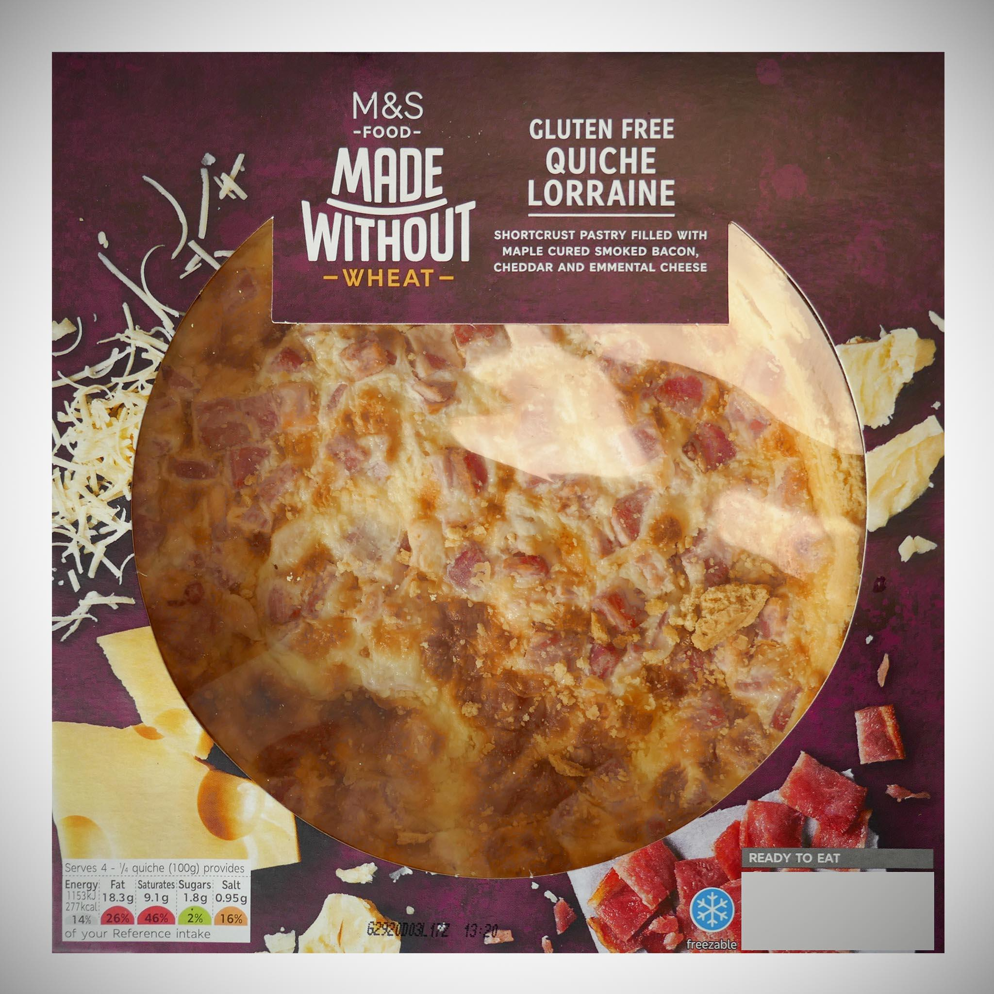 Made Without Gluten Free Quiche Lorraine 400g