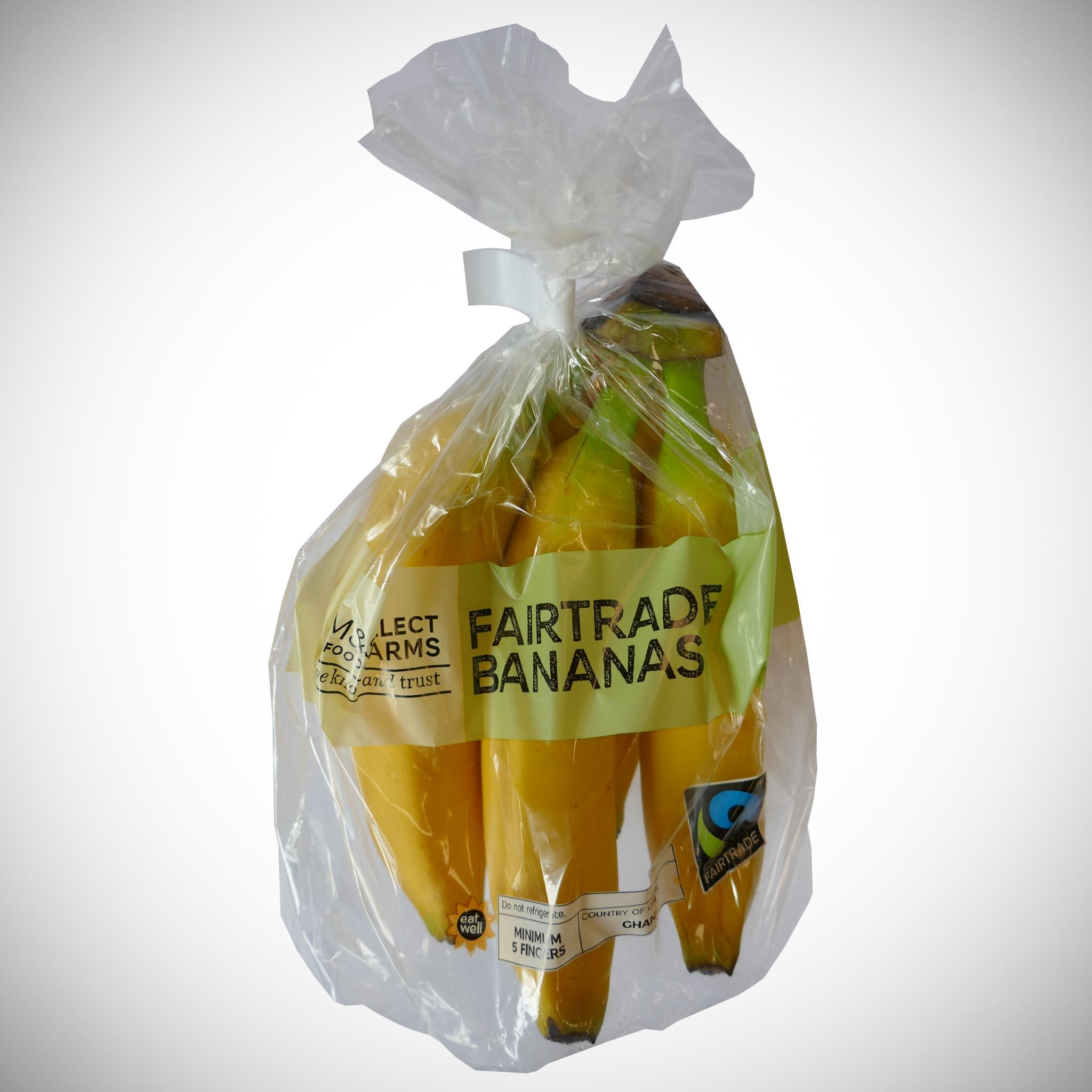 Fairtrade Banana Bag x 5