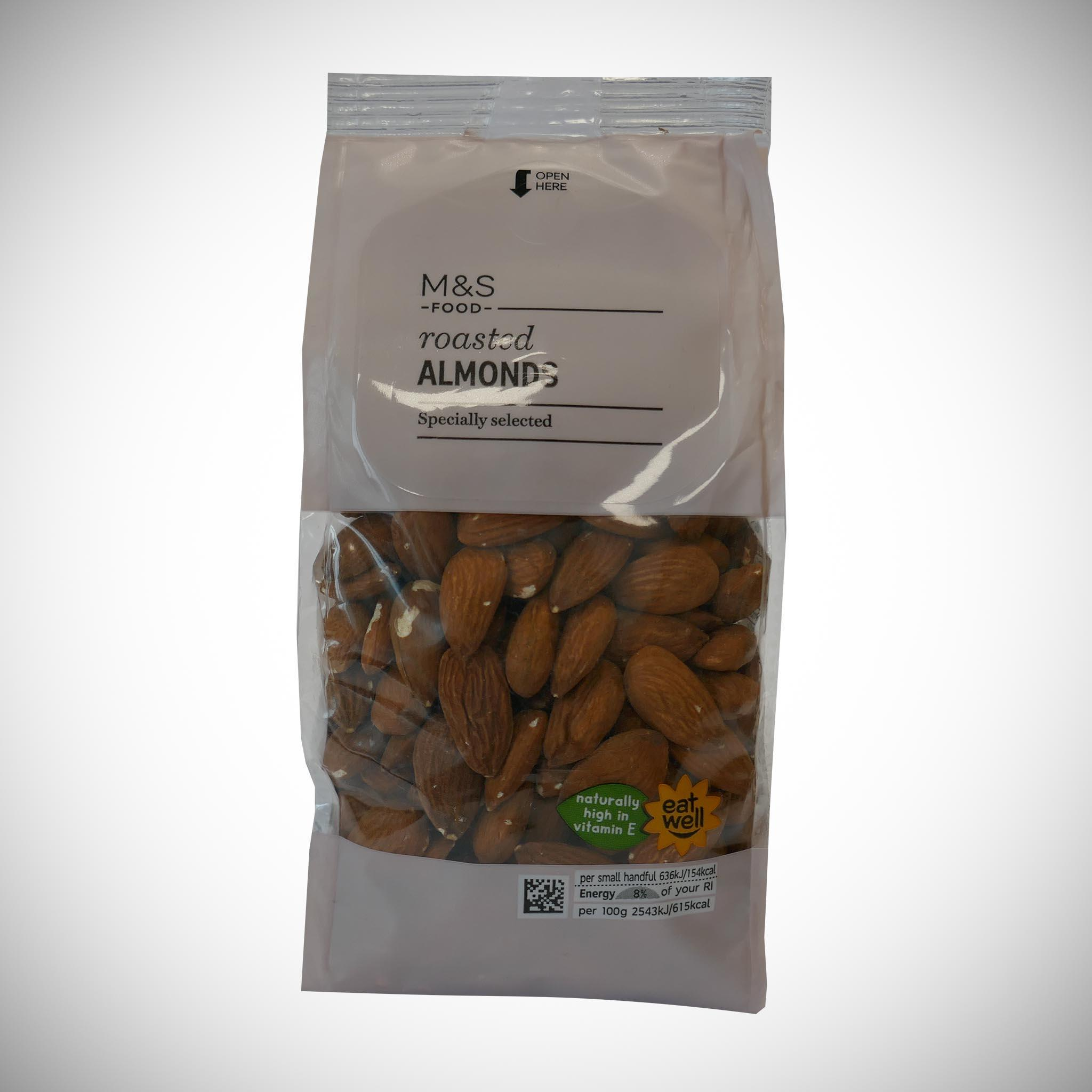 Roasted Almonds 350g