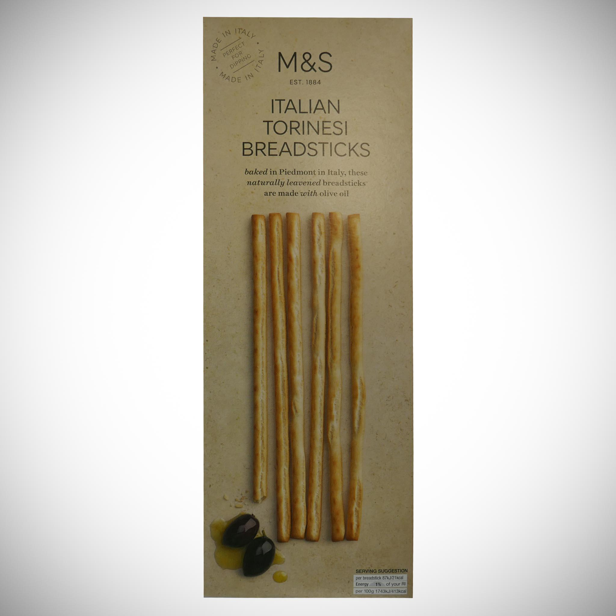 Italian Torinesi Breadsticks 125g