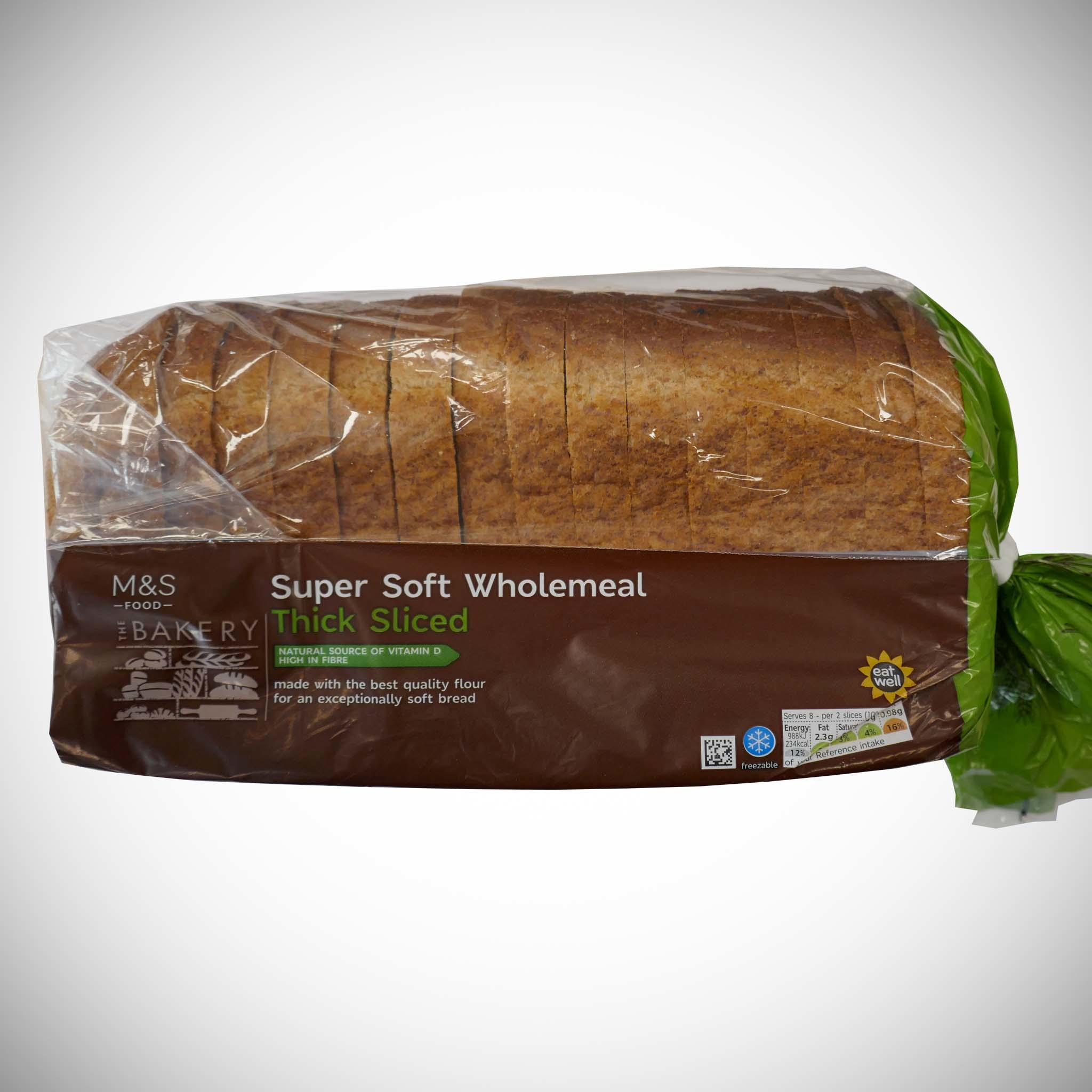 Wholemeal Thick Loaf 800g