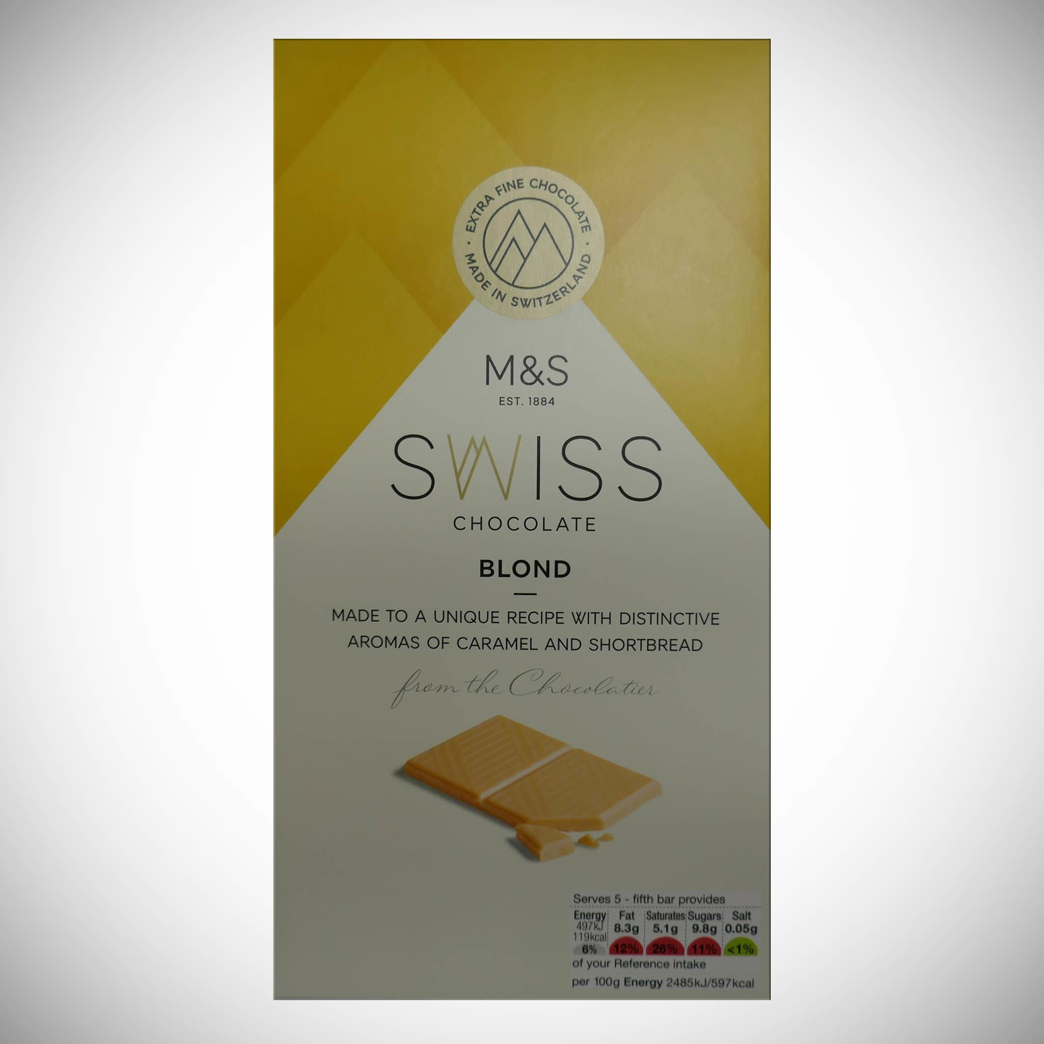 Swiss Chocolate Blond 100g