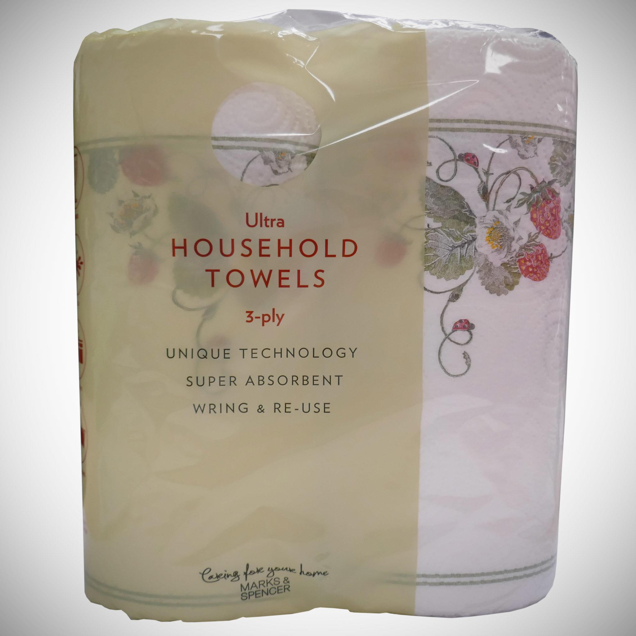Ultra Household Towels 3 Ply