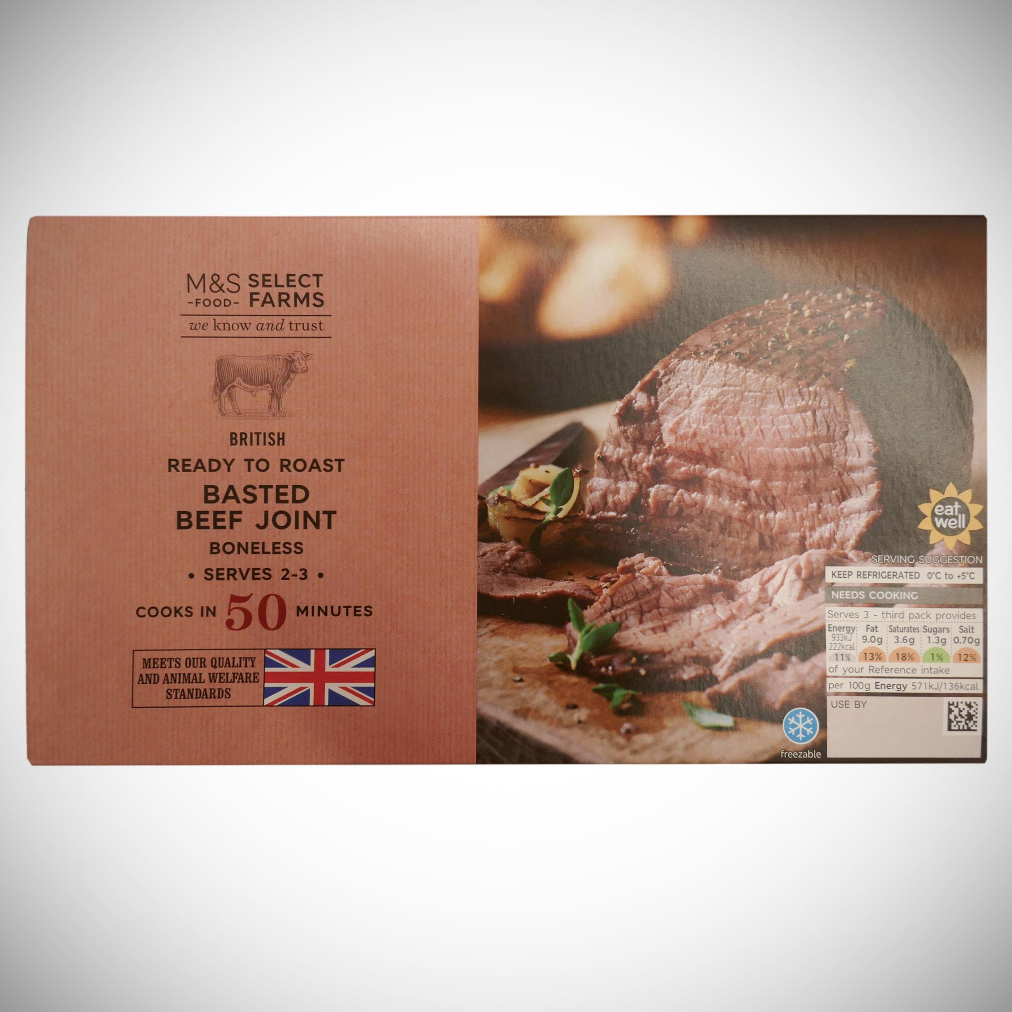 Beef Roasting Joint 490g