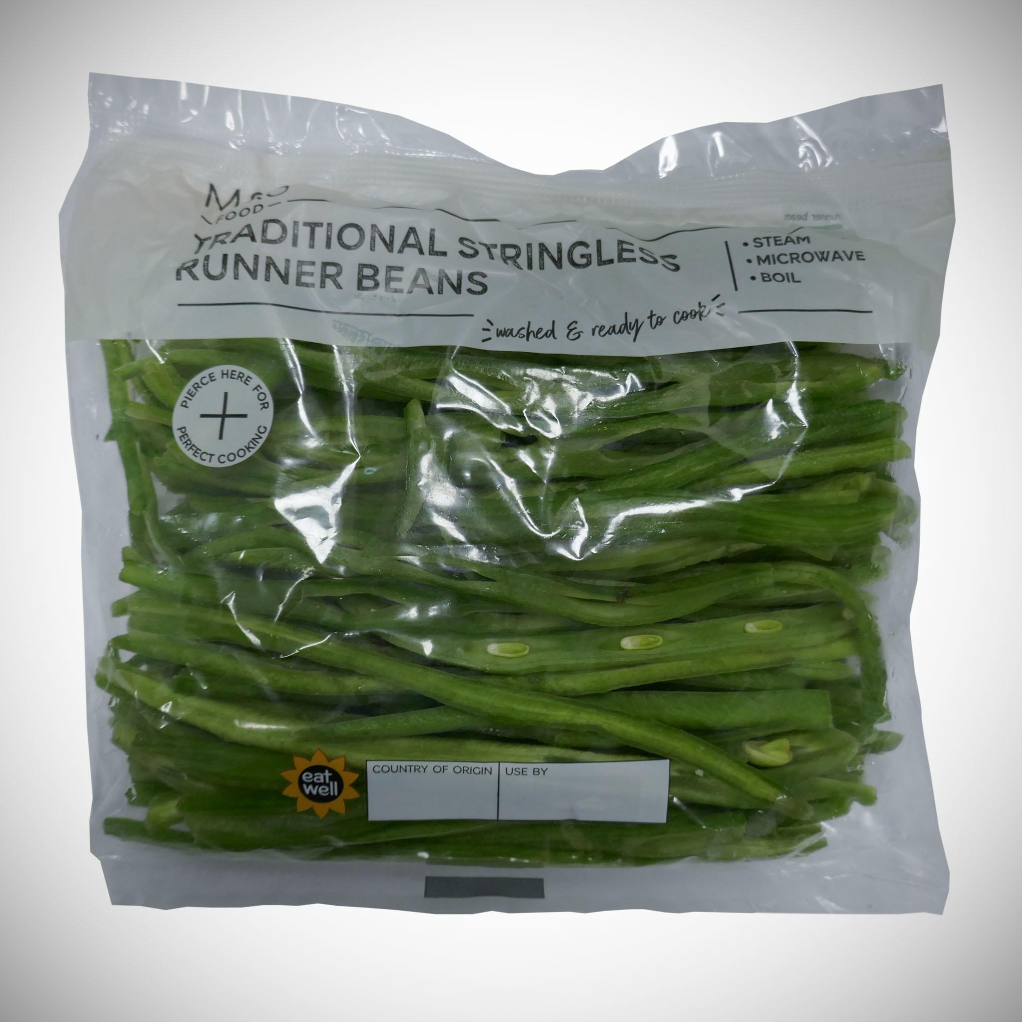Traditional Stringless Runner Beans 280g