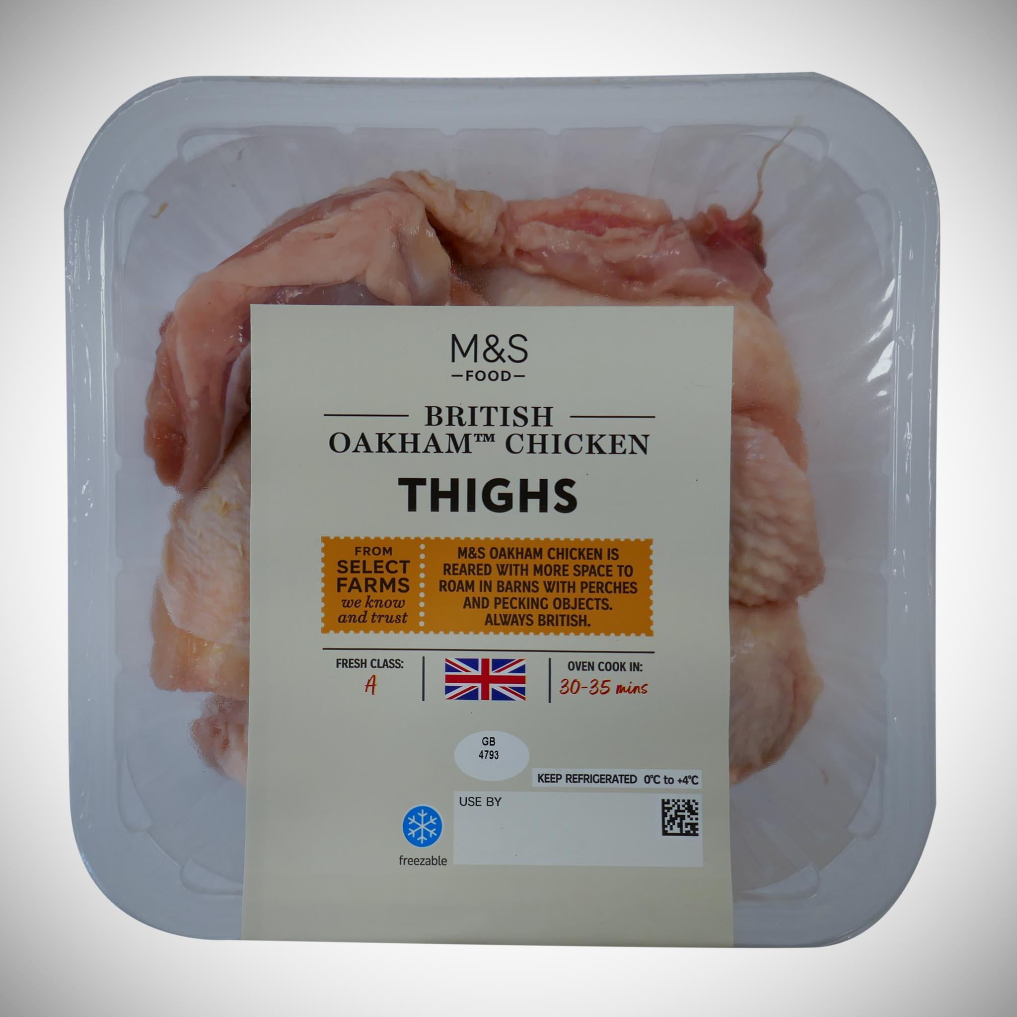 Chicken Thighs 600g