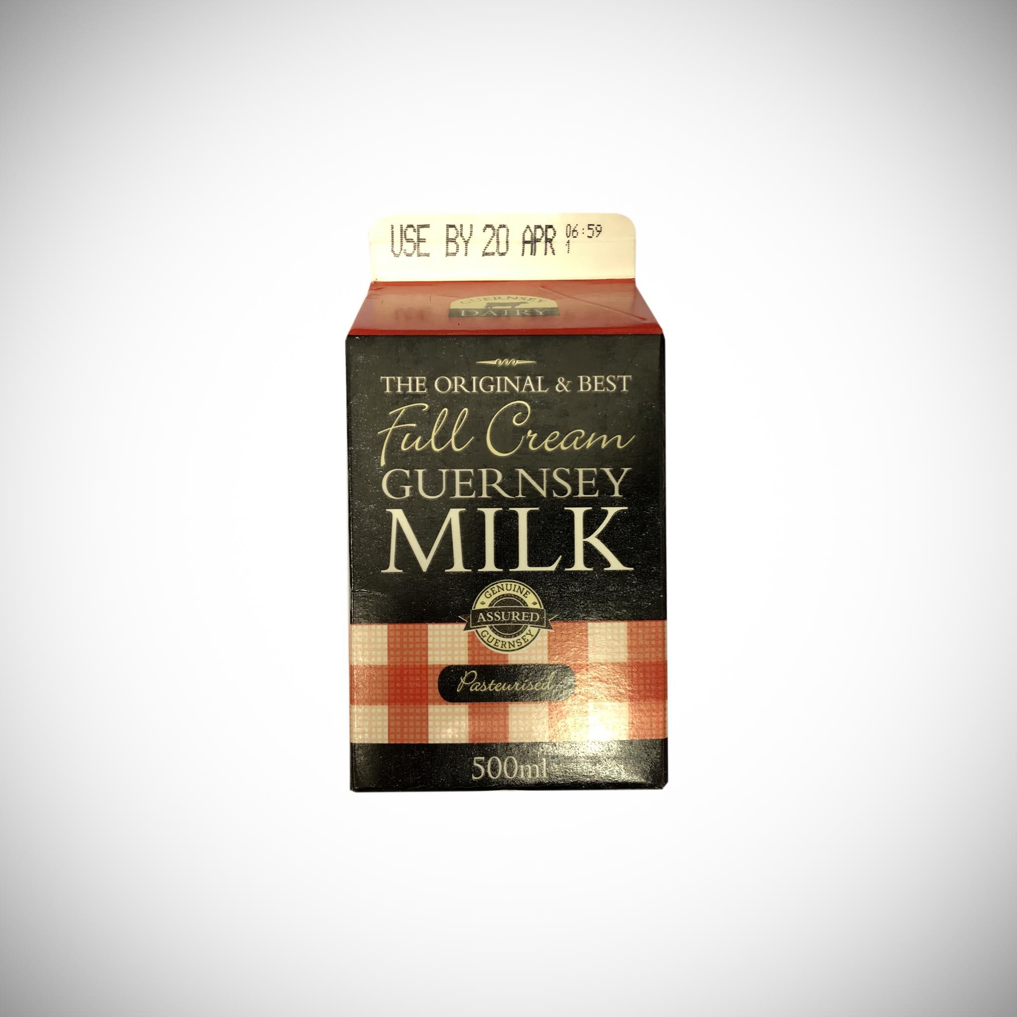 Guernsey Whole Cream Milk 500ml