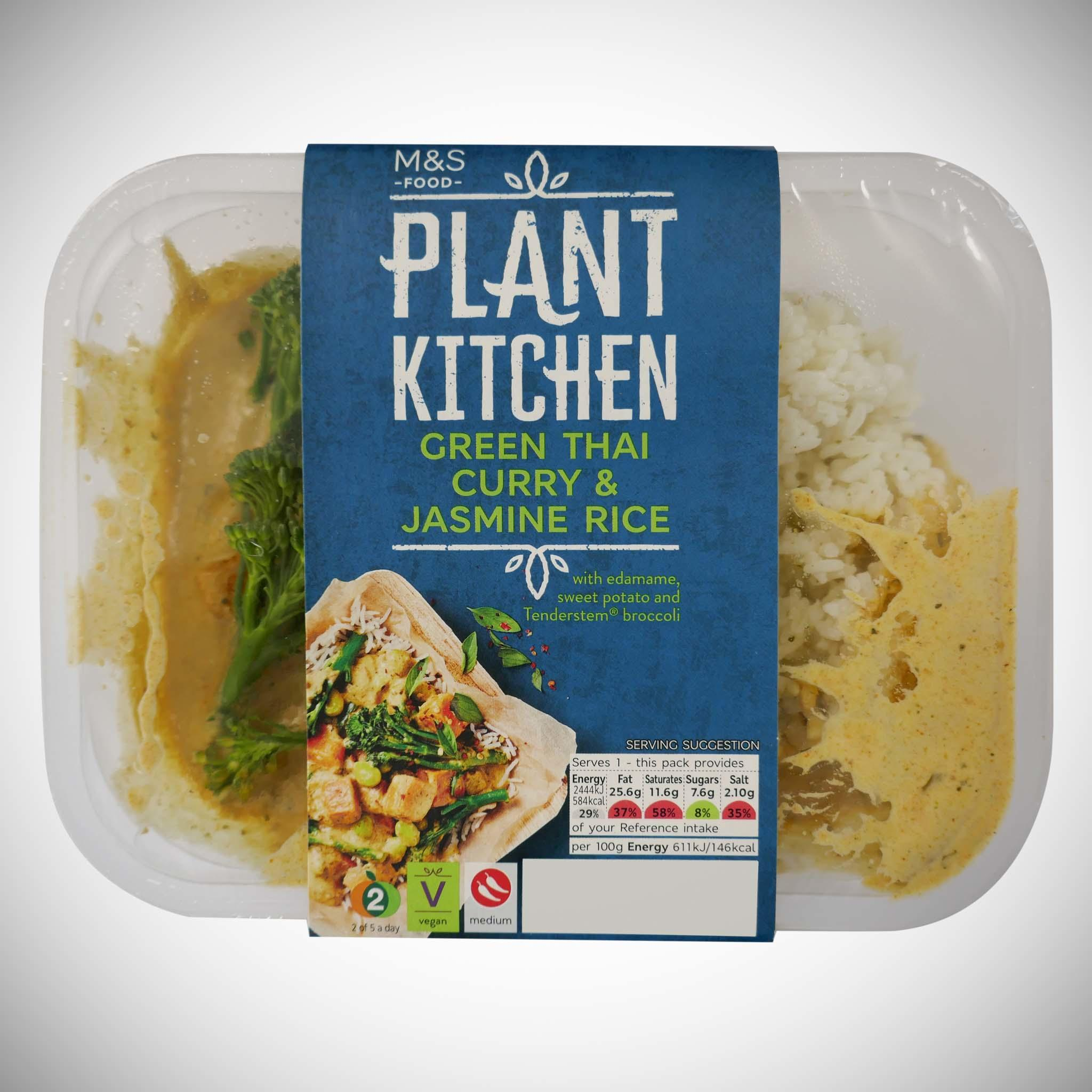 Plant Kitchen Green Thai Curry 400g