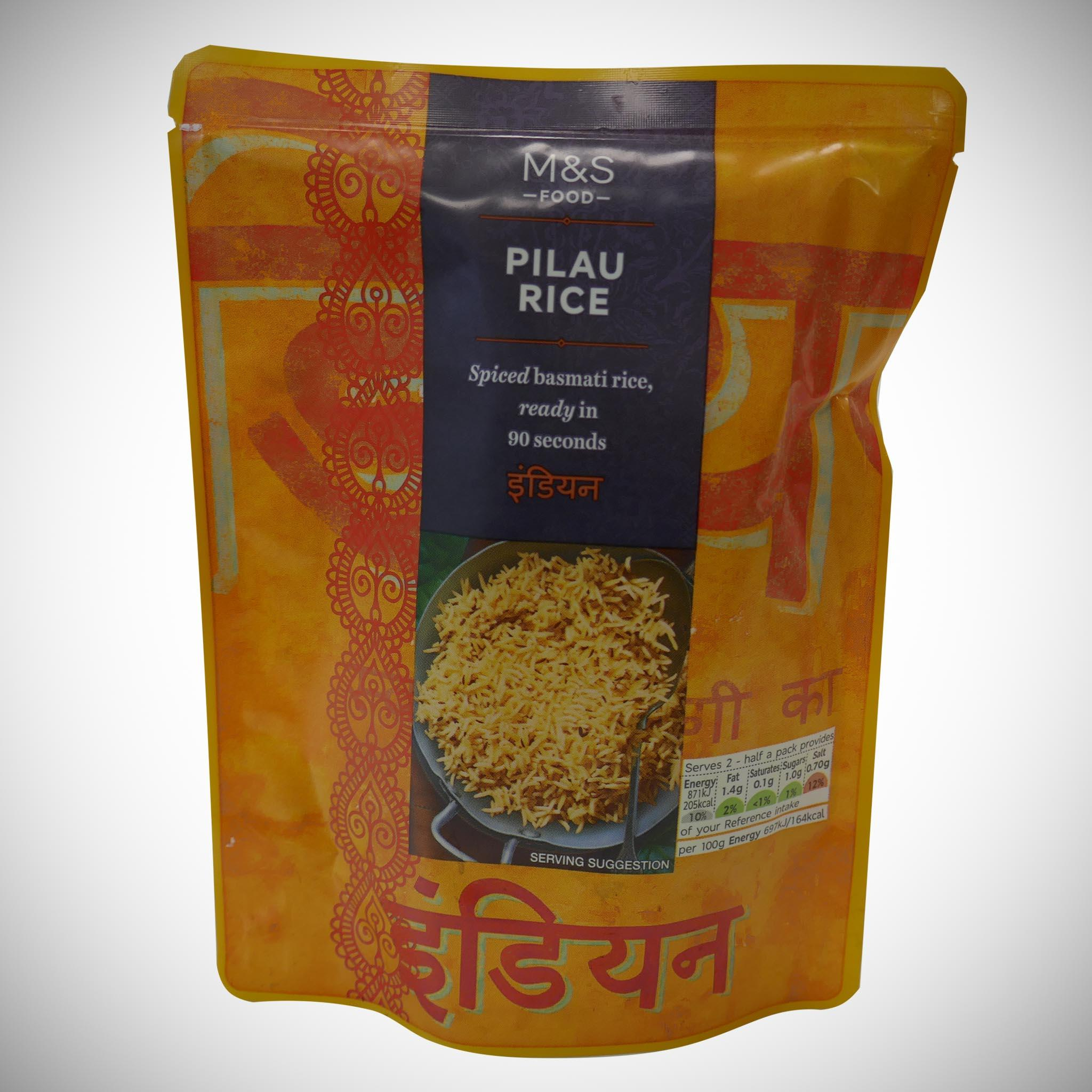 Microwaveable Pilau Rice 250g