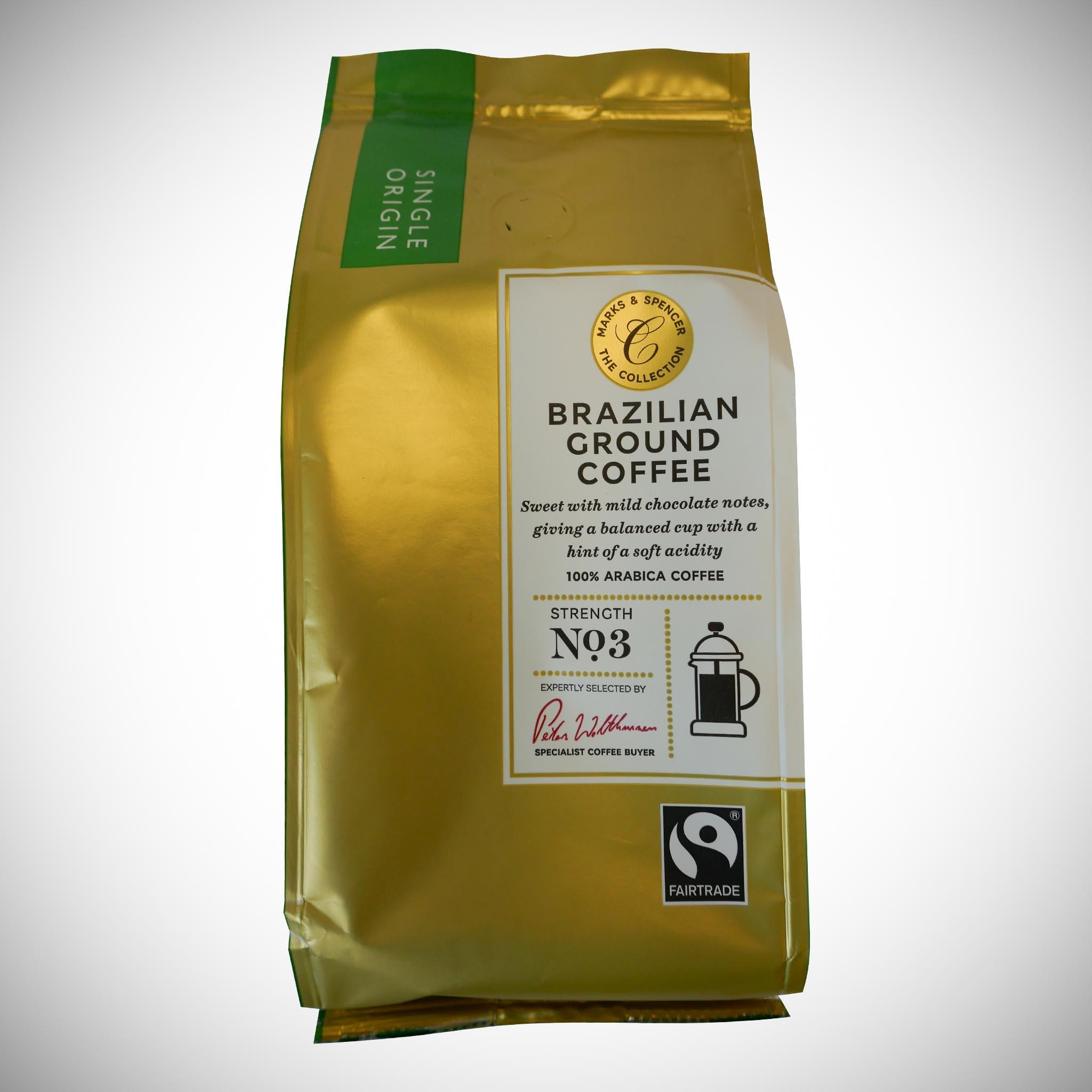 Brazilian Ground Coffee 227g