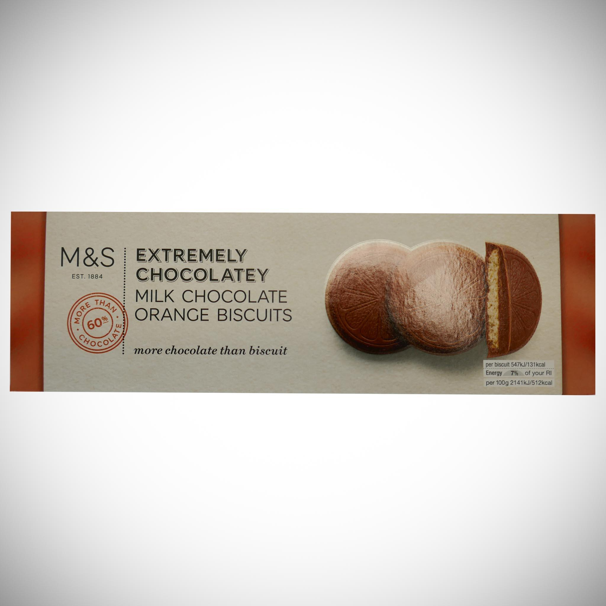 Extremely Chocolatey Milk Chocolate Orange Biscuits 230g
