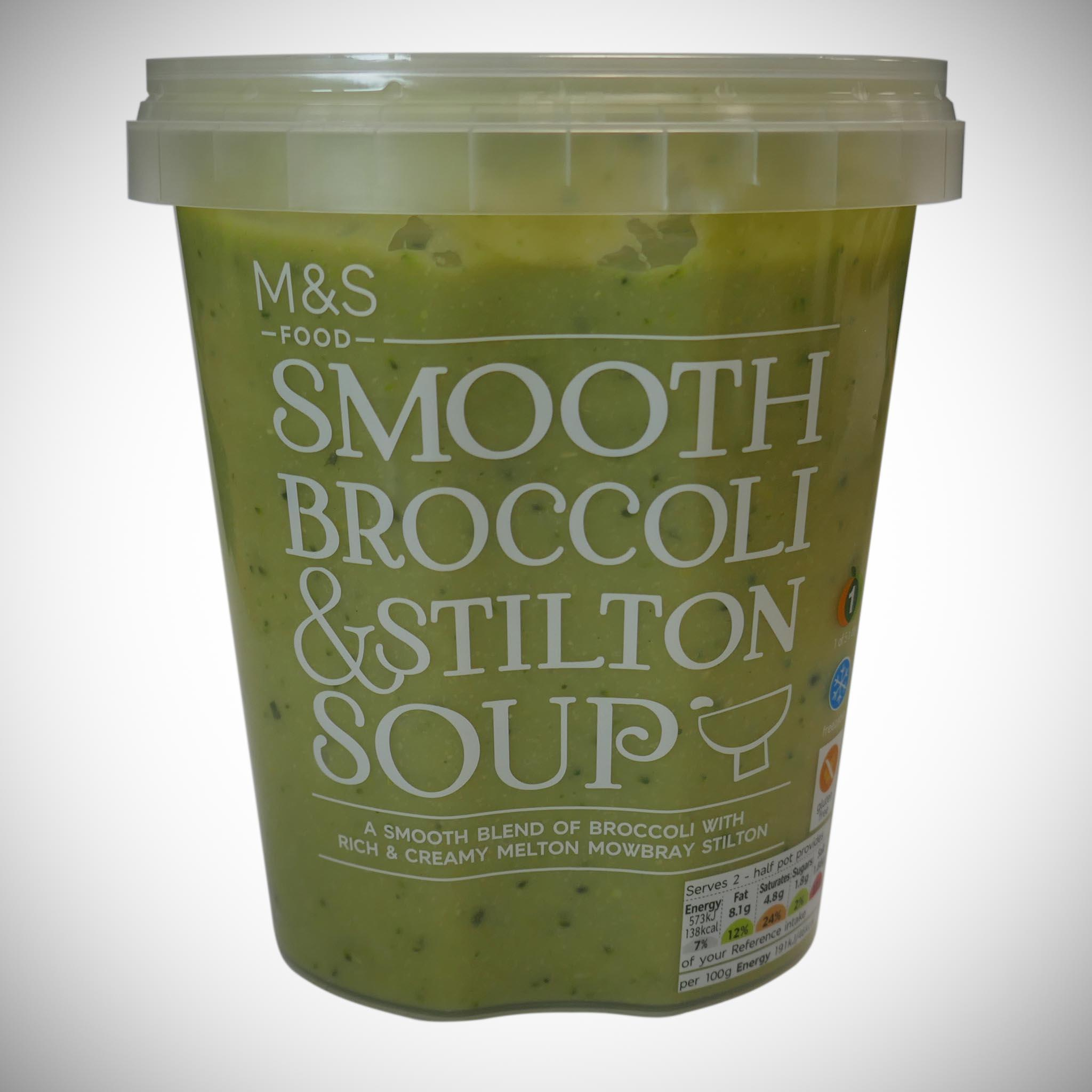 Broccoli & Stilton Soup 600g