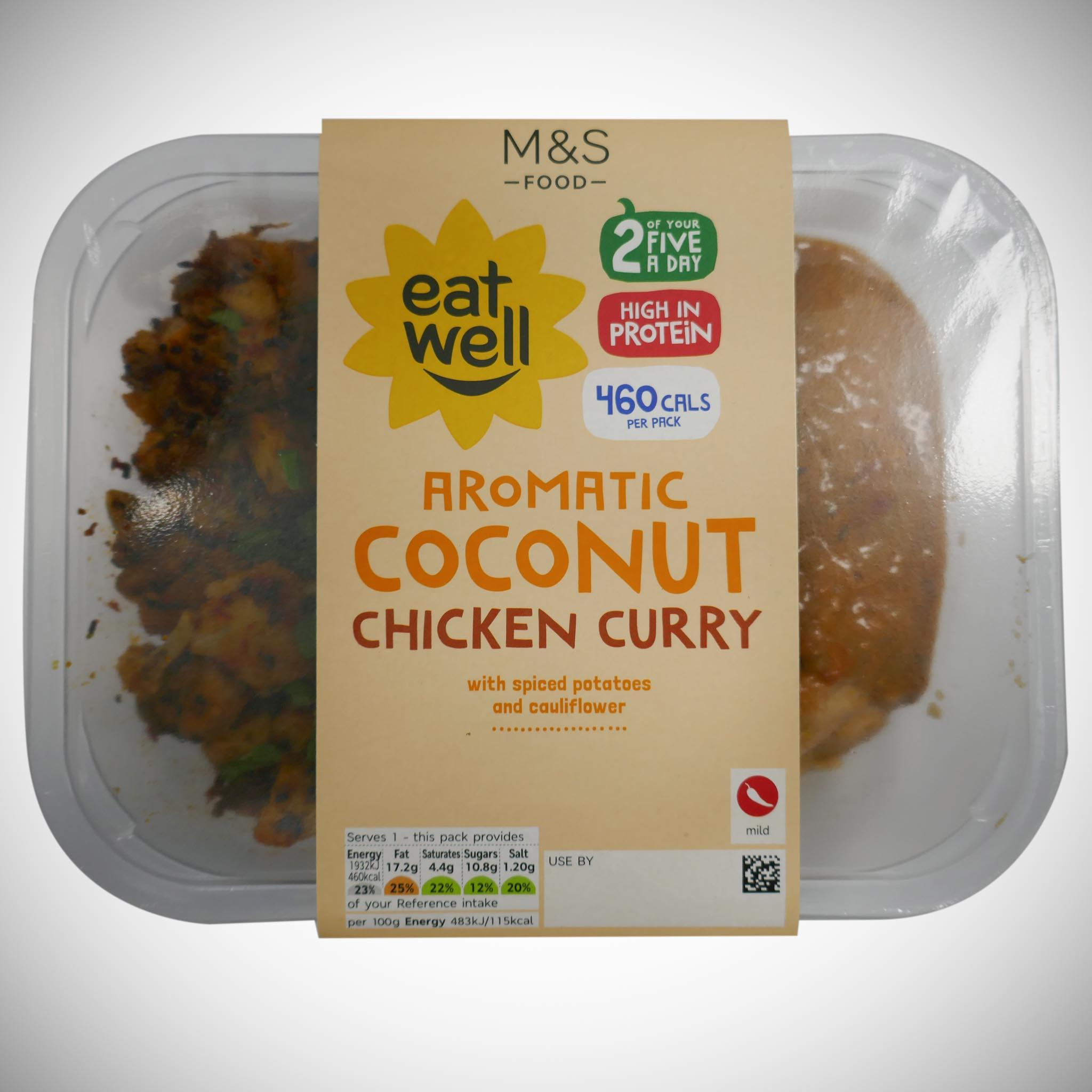 'Eat Well' Aromatic Coconut Chicken Curry 400g