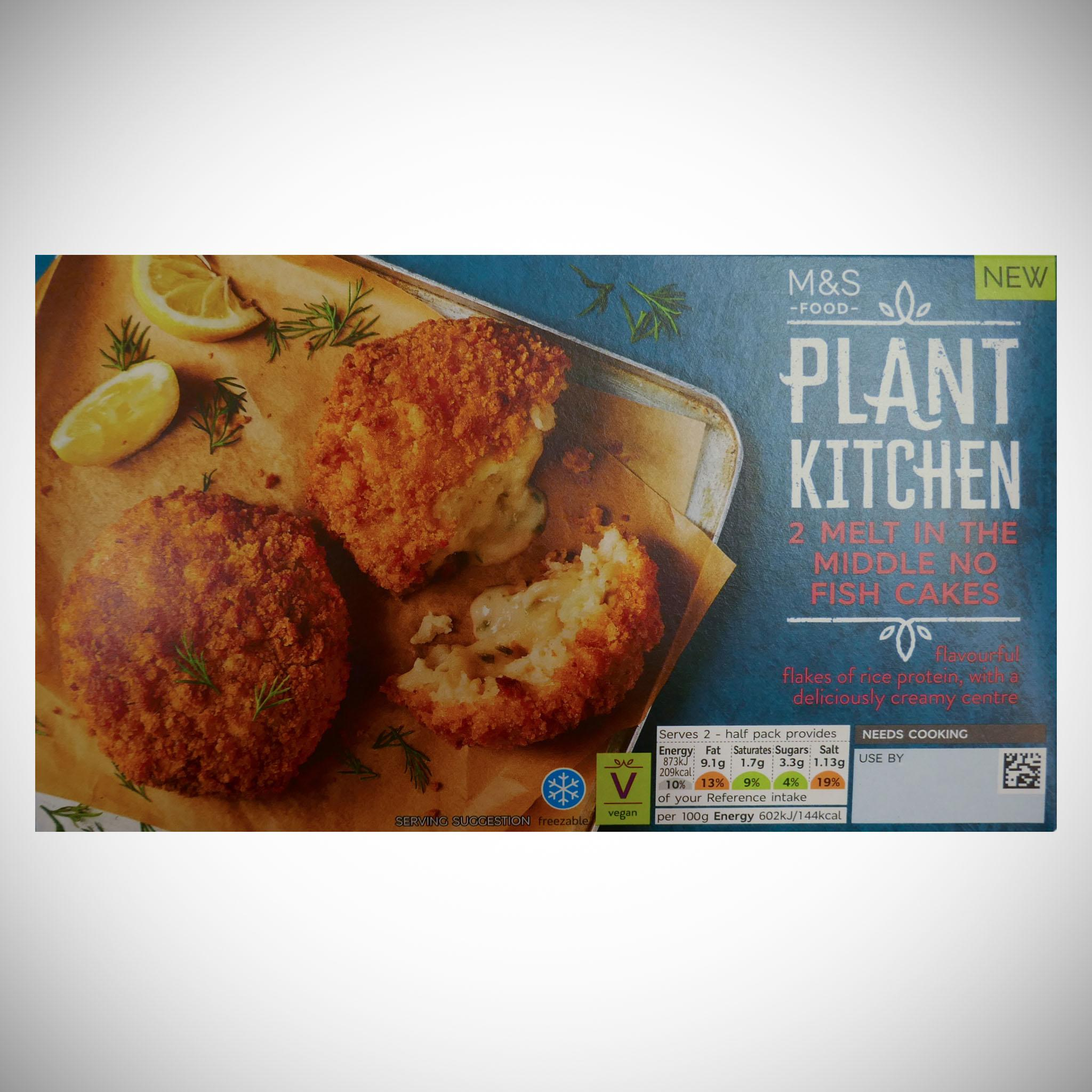 Plant Kitchen 2 Melt in the Middle No Fish Cakes 290g