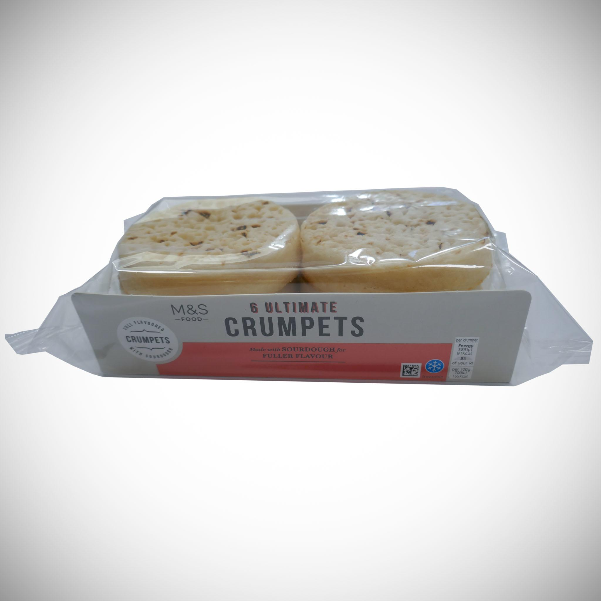 Ultimate Crumpets x 6