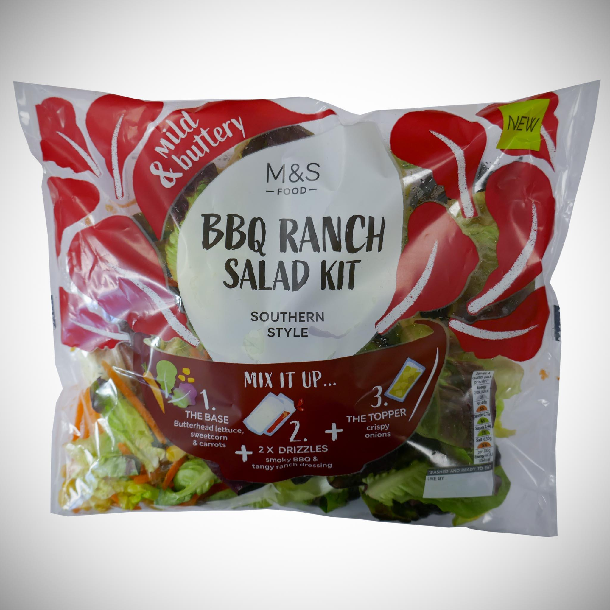 BBQ Salad Kit Bag 225g
