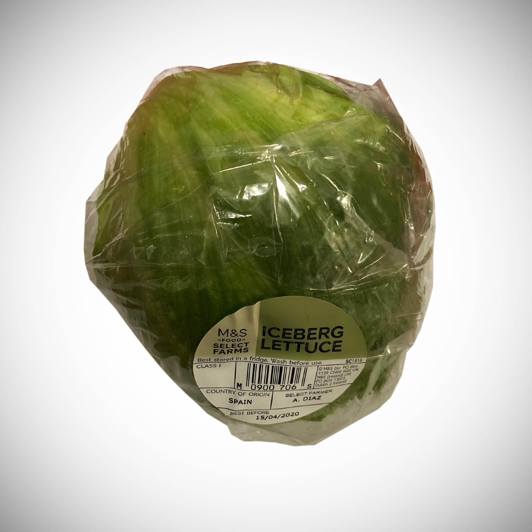 Iceberg Whole Lettuce x 1