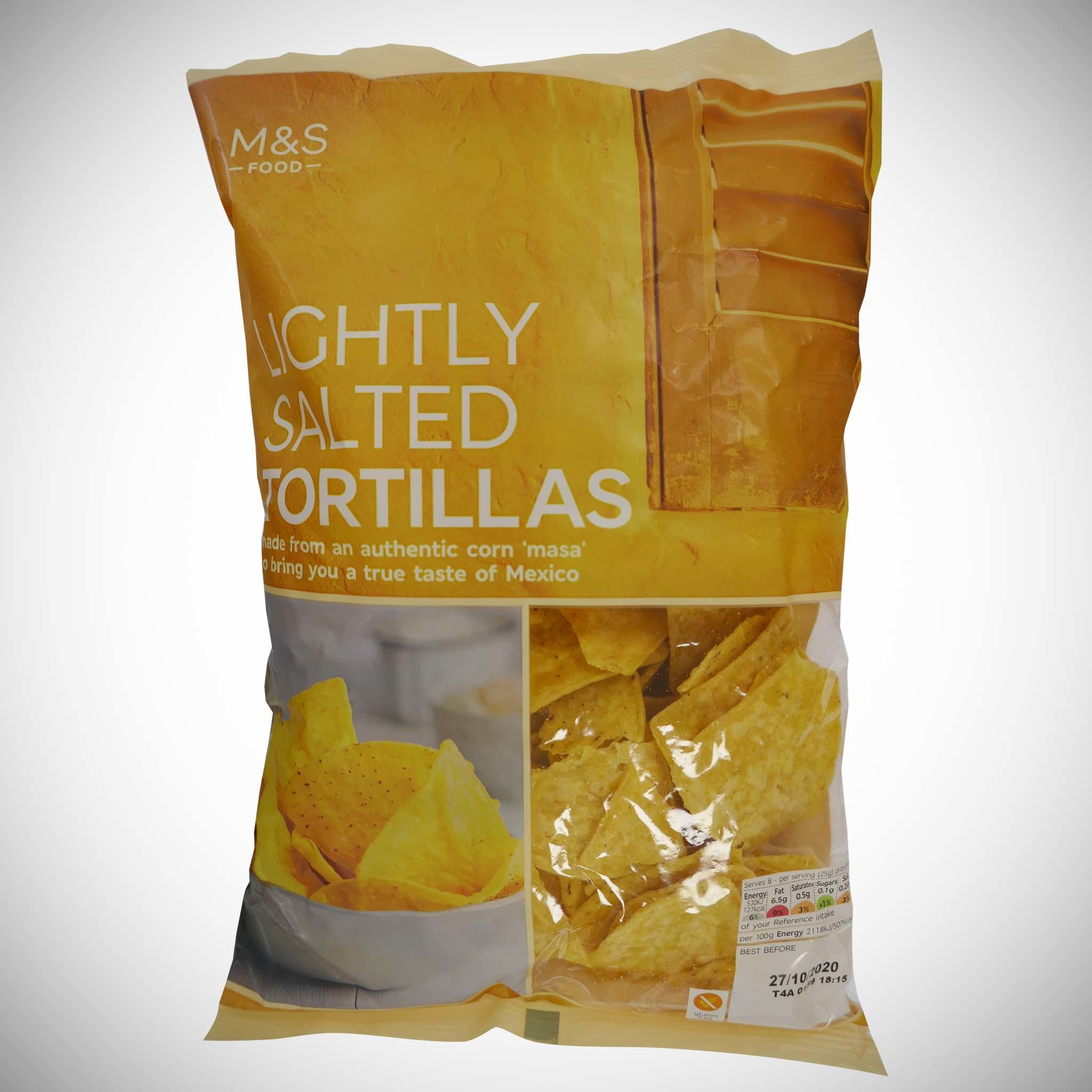 Lightly Salted Tortilla Chips 200g