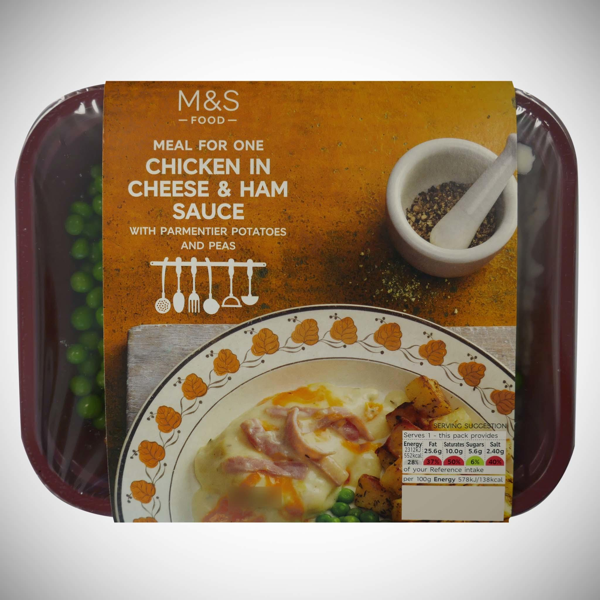 Chicken In Cheese & Ham Sauce 400g