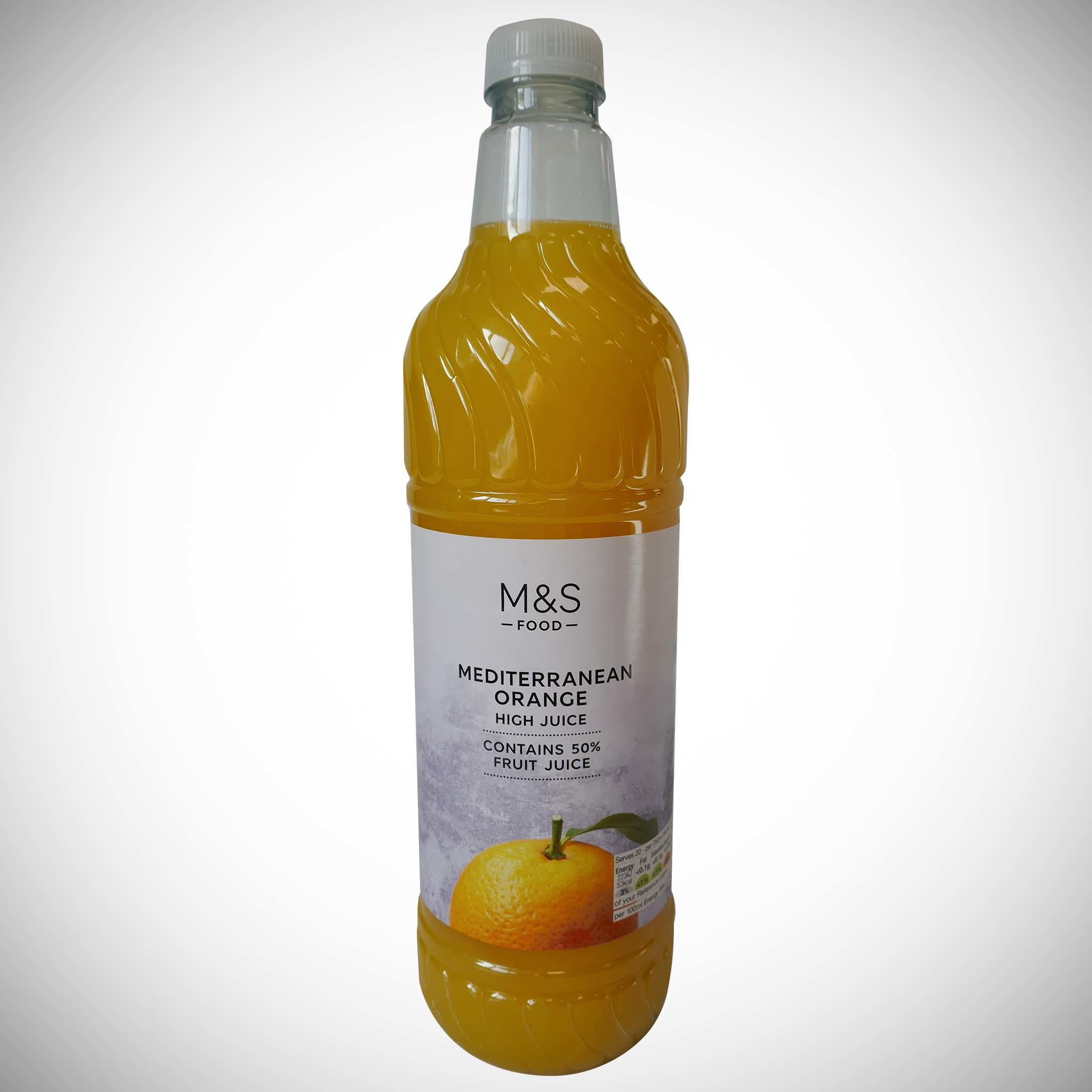 Mediterranean Orange High Juice 1l