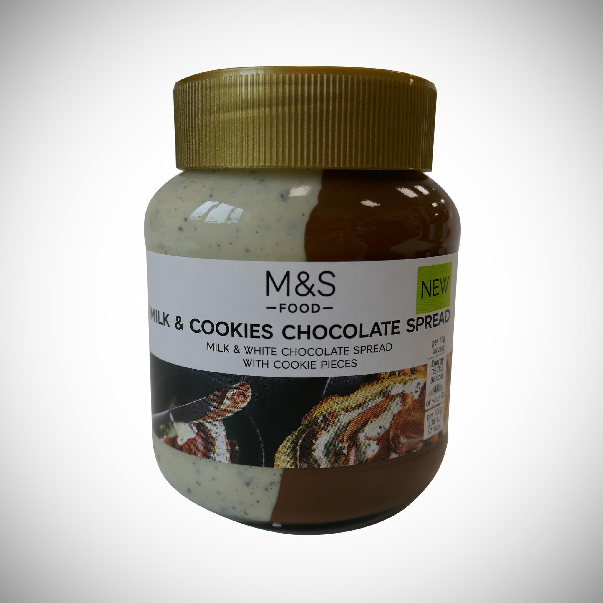 Milk & Cookies Chocolate Spread 400g