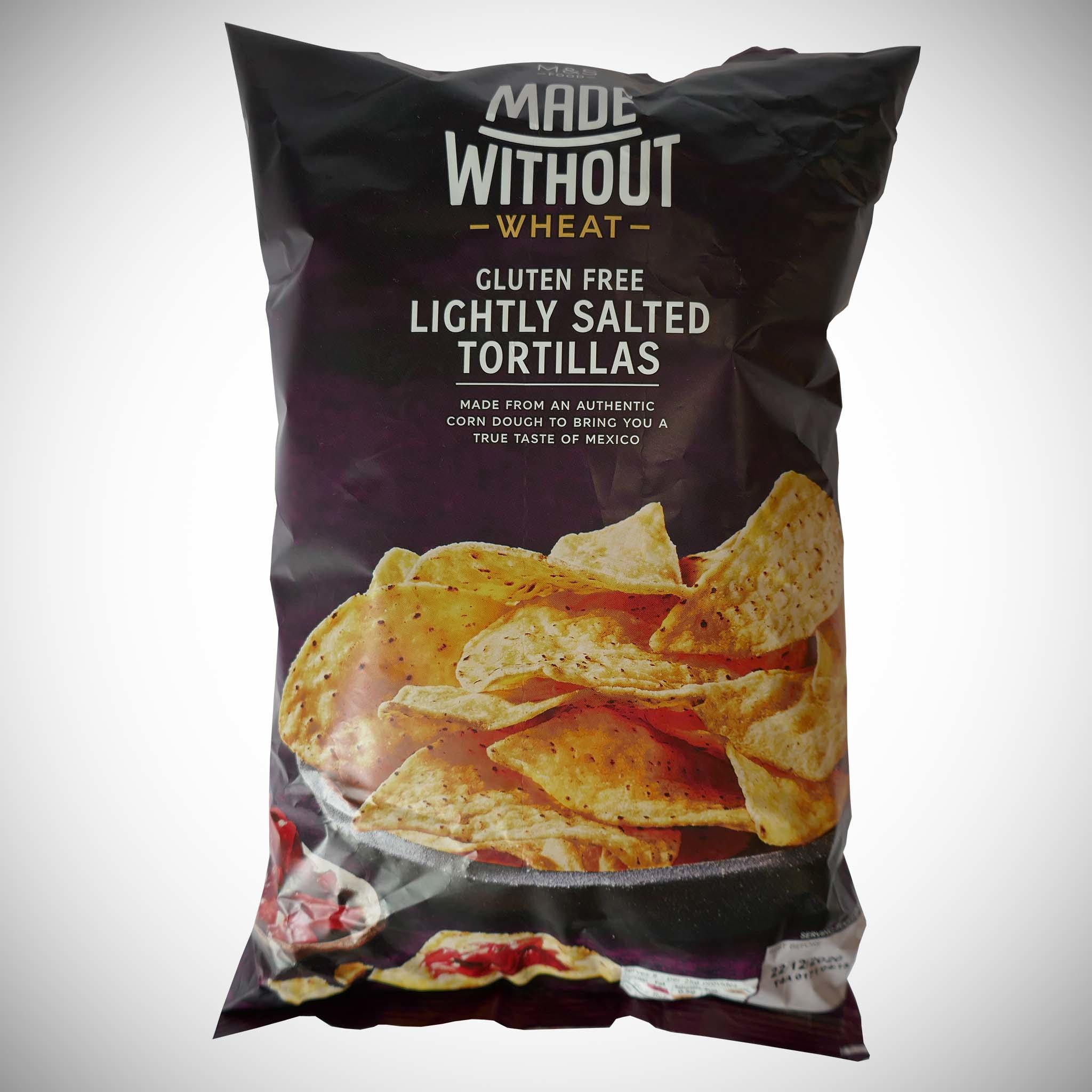 Made Without Wheat Lightly Salted Tortillas 200g