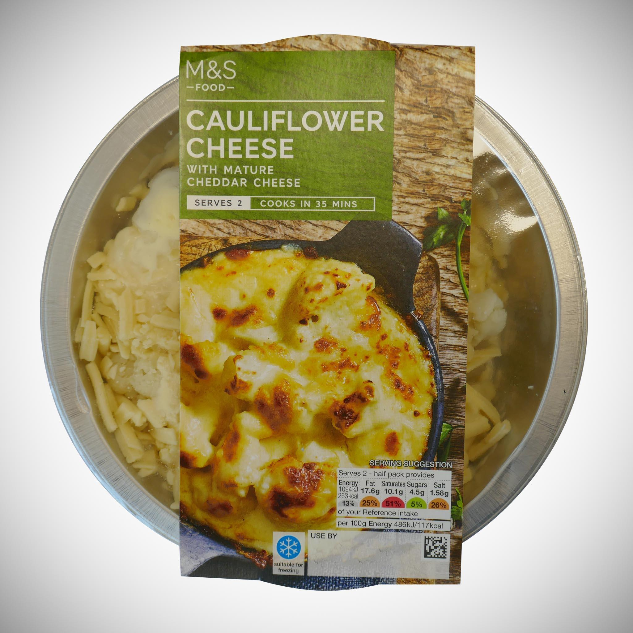 Cauliflower Cheese 450g