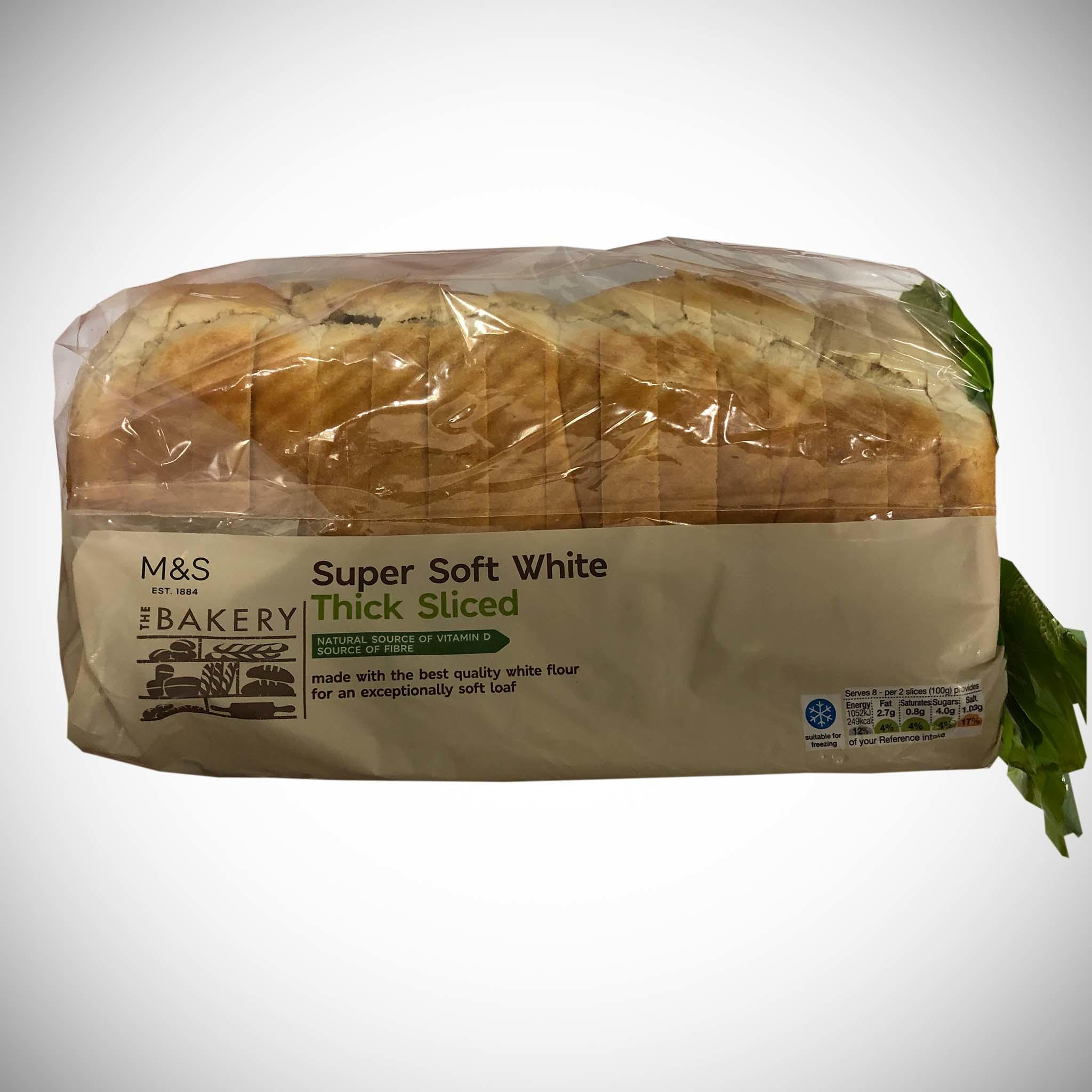 Supersoft White Thick Loaf 800g