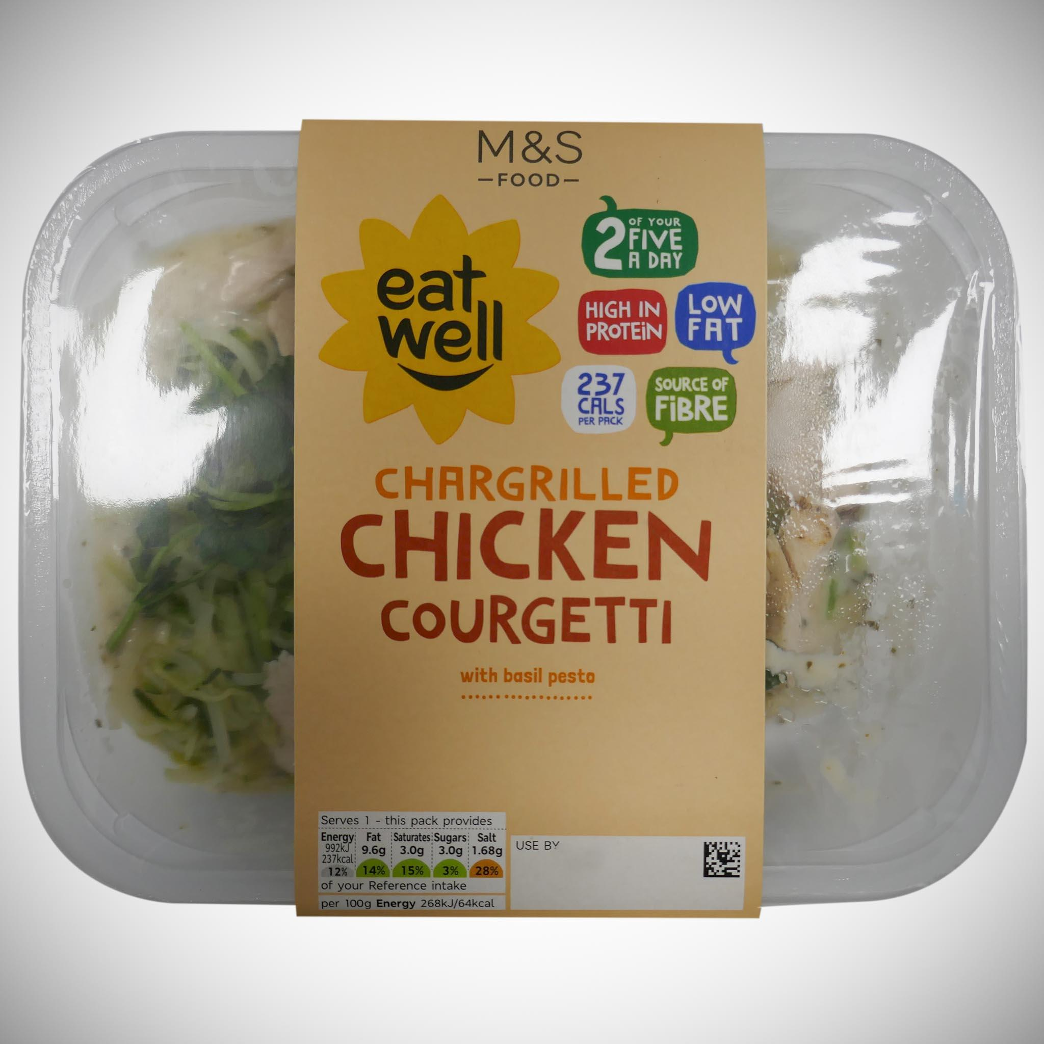 Eat Well Chargrilled Chicken Courgetti 380g