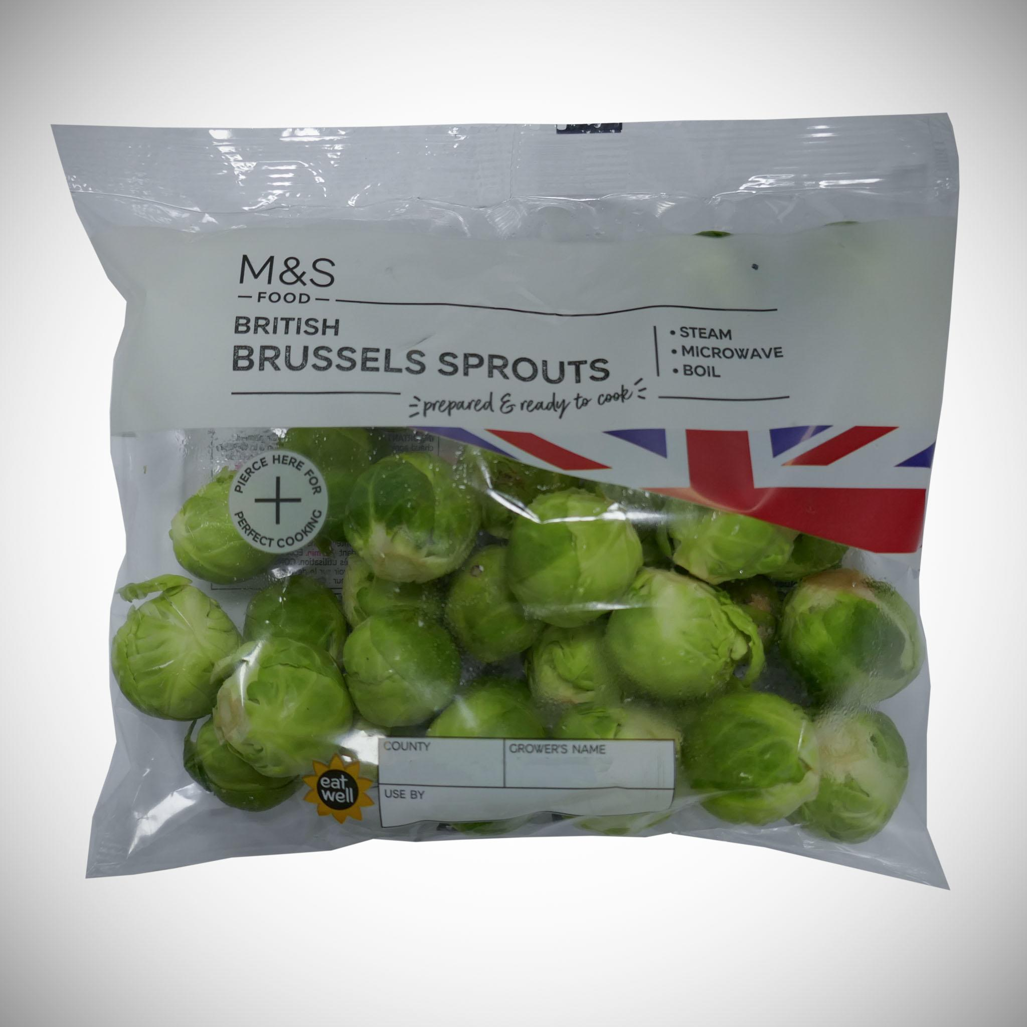 British Brussels Sprouts 320g
