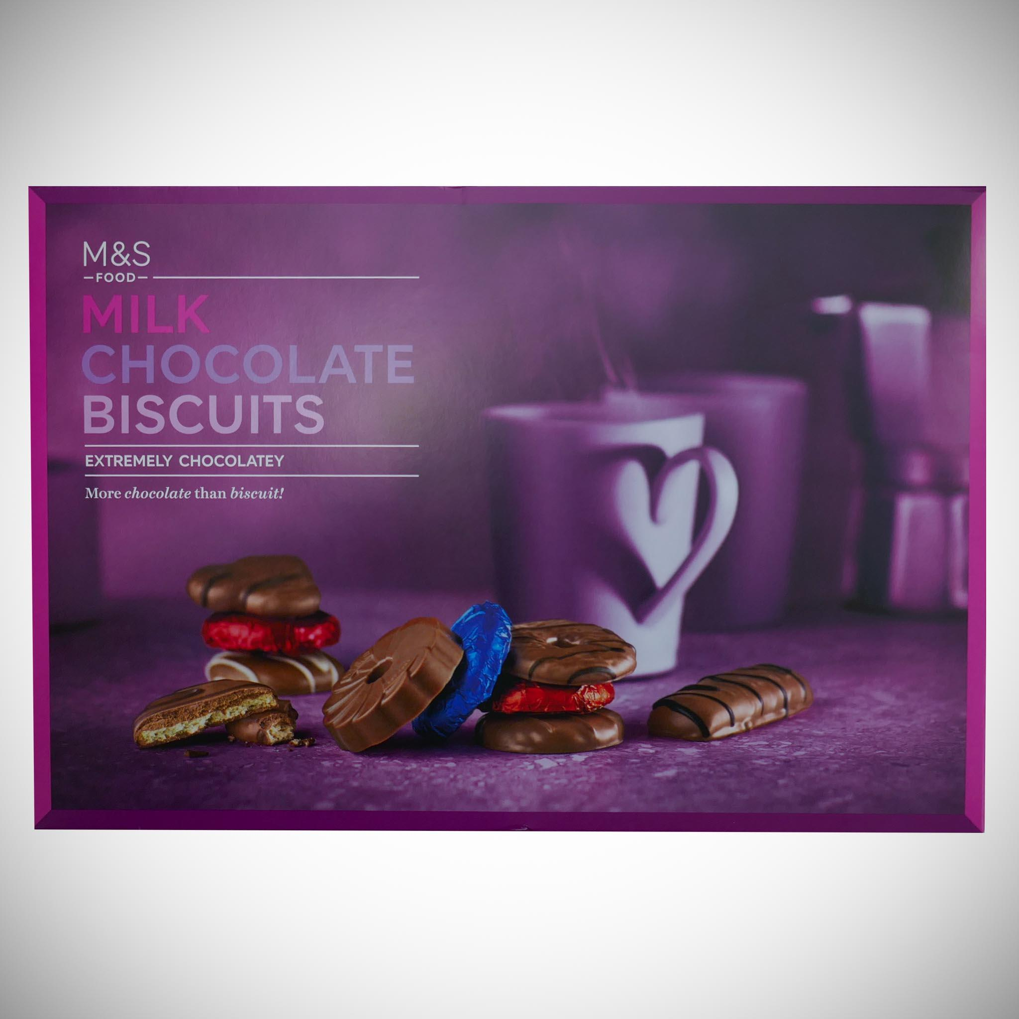 Extremely Chocolatey Milk Chocolate Biscuits 450g