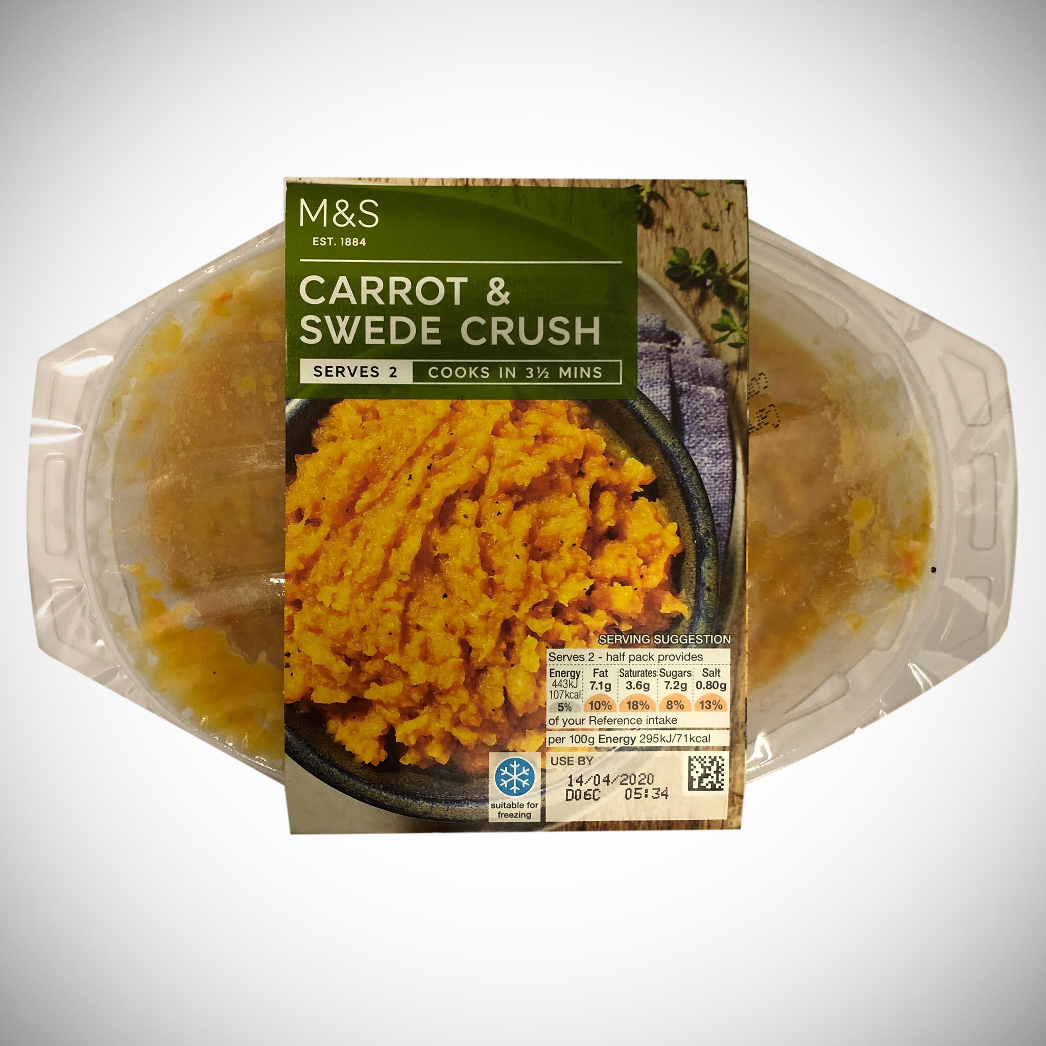Carrot & Swede Crush 300g