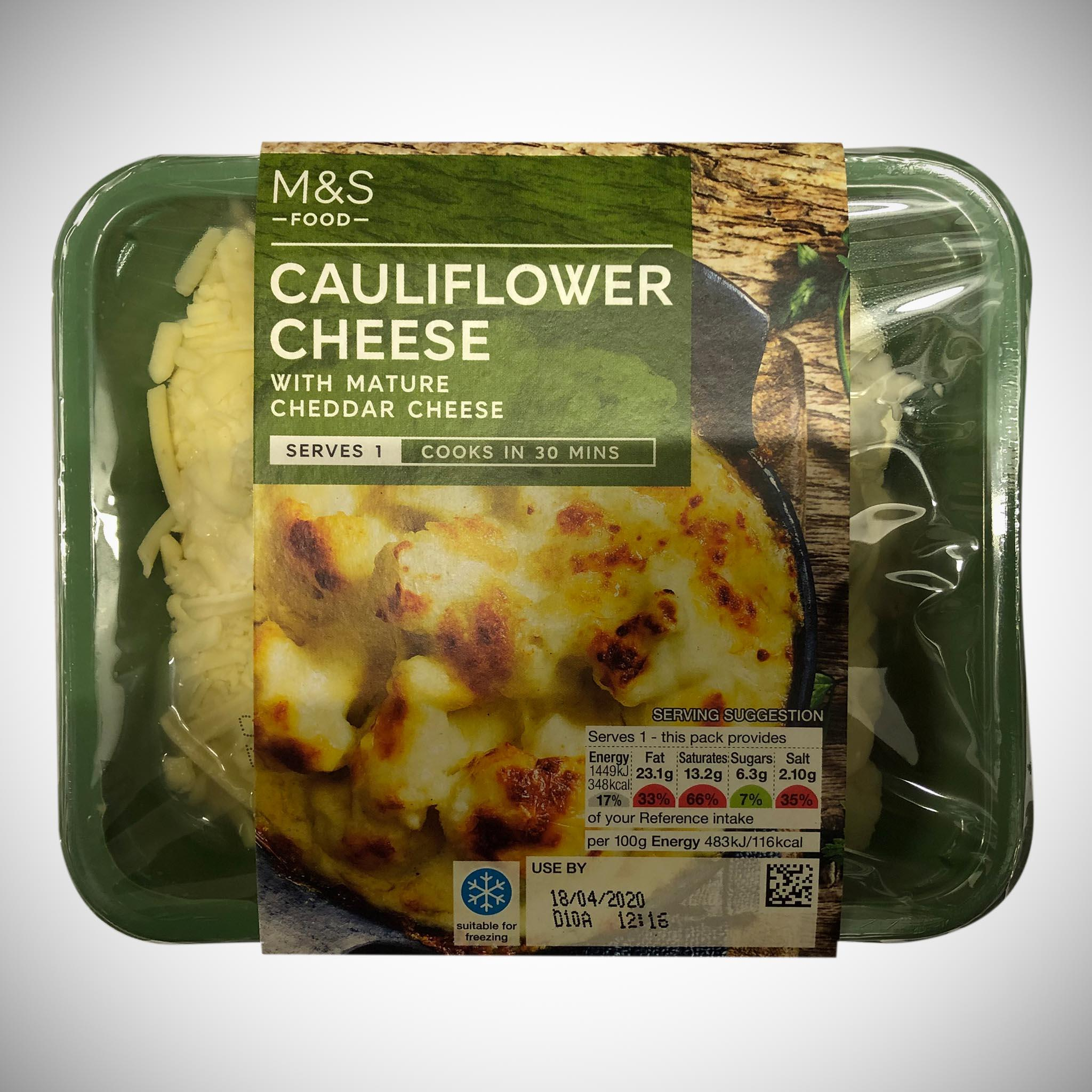 Cauliflower Cheese 300g