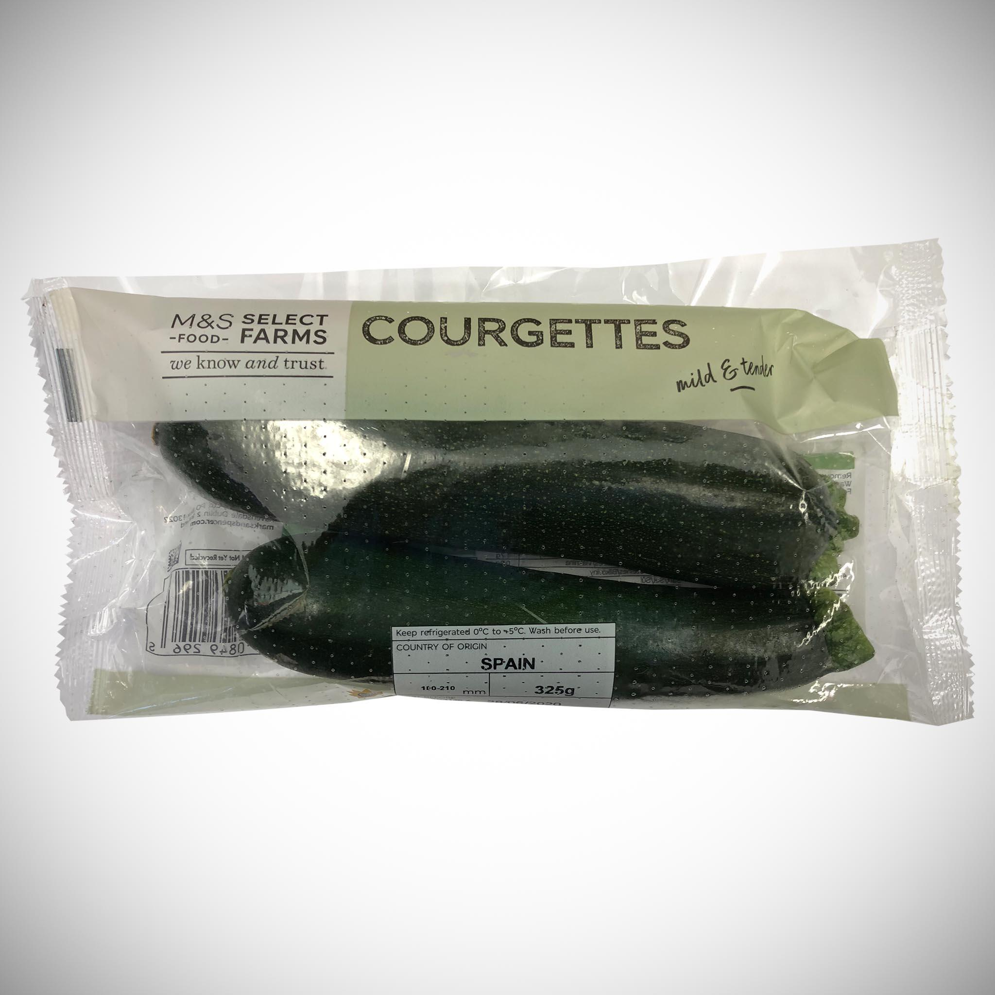 Courgettes 325g