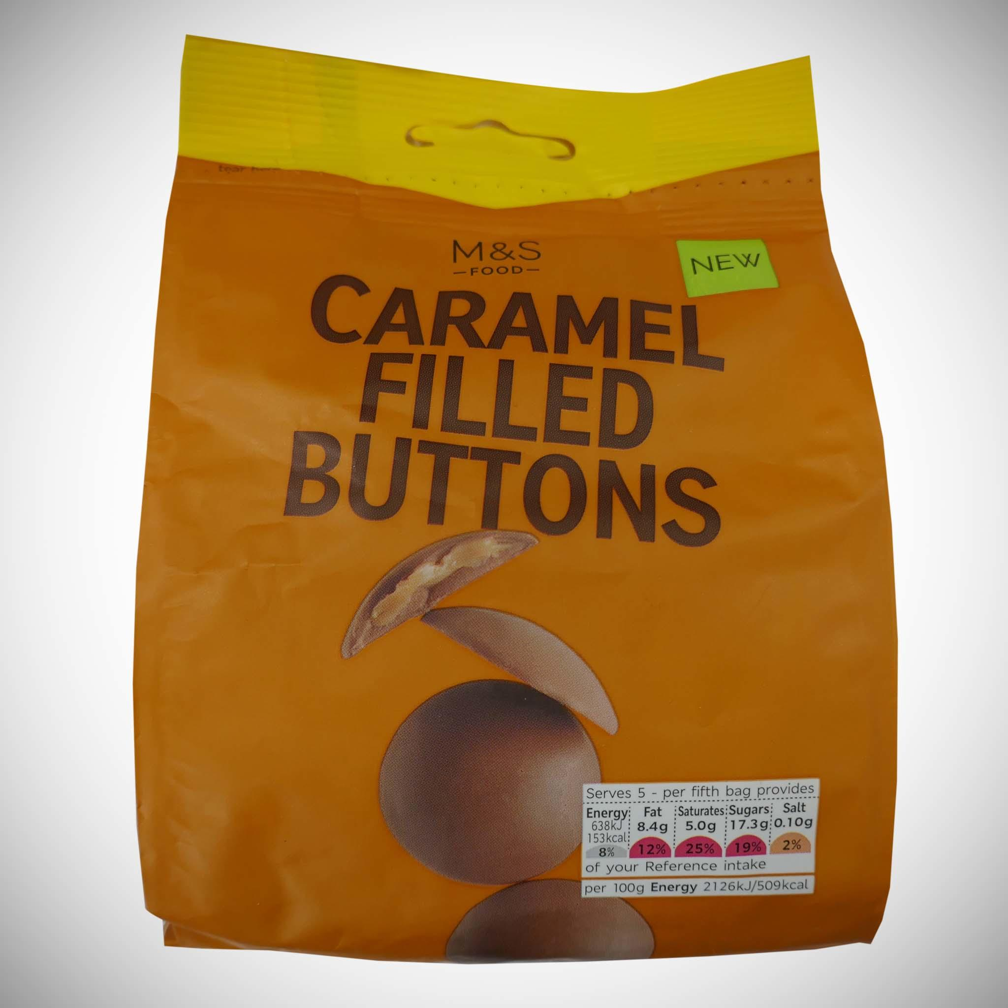 Caramel Filled Buttons 150g