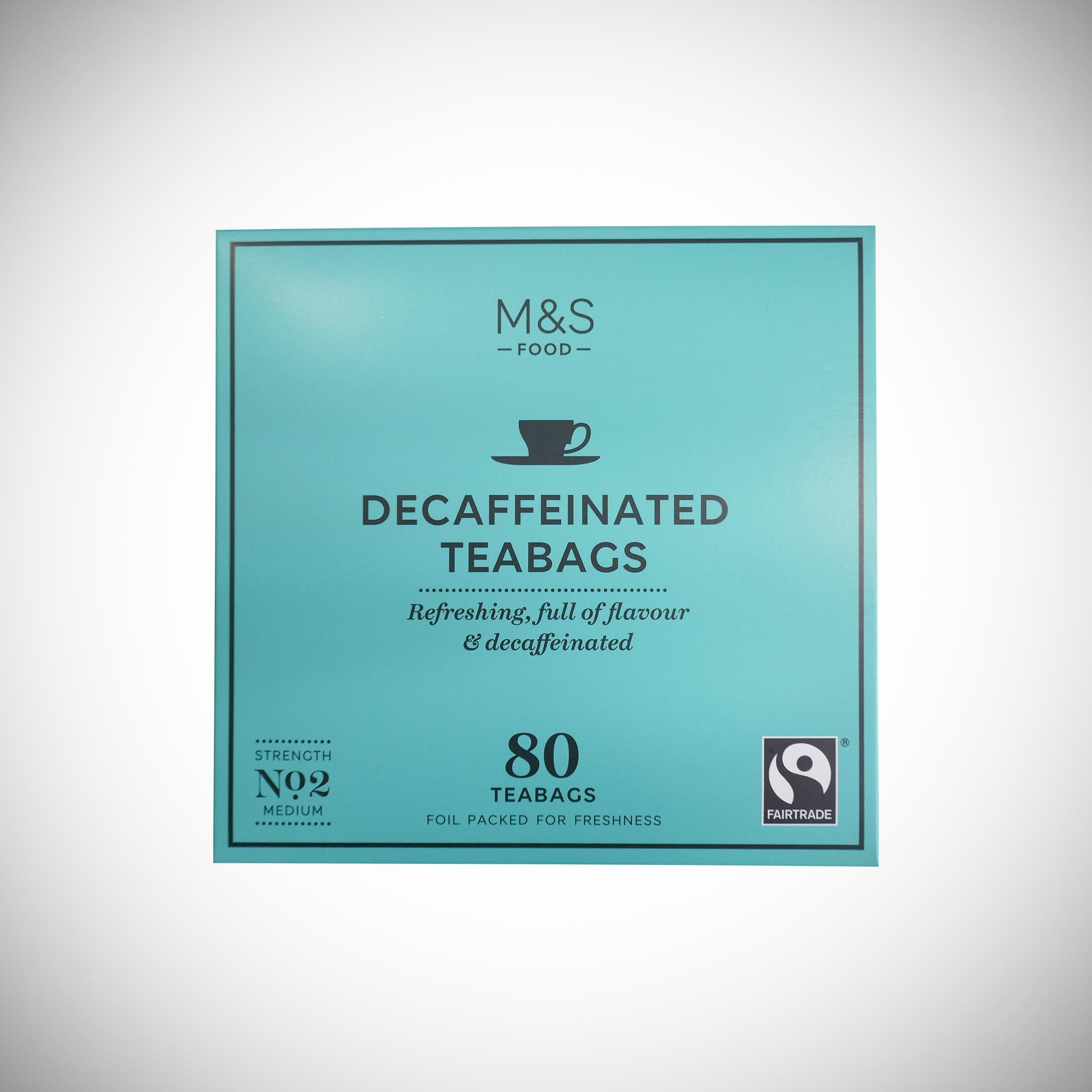 80 Decaffeinated Tea Bags 250g