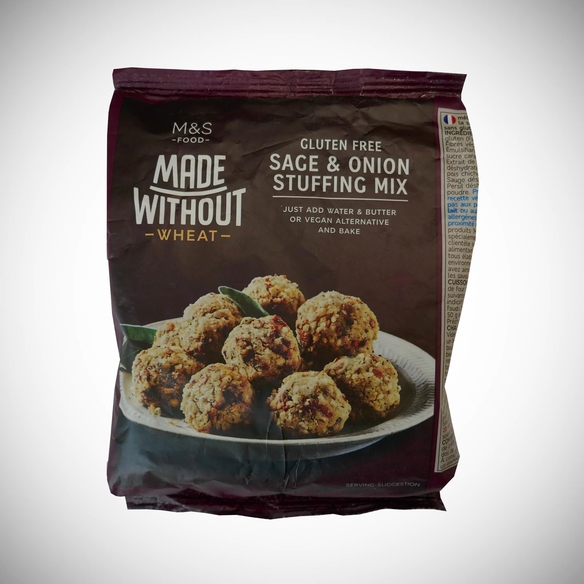 Made Without Wheat Sage & Onion Stuffing Mix 125g
