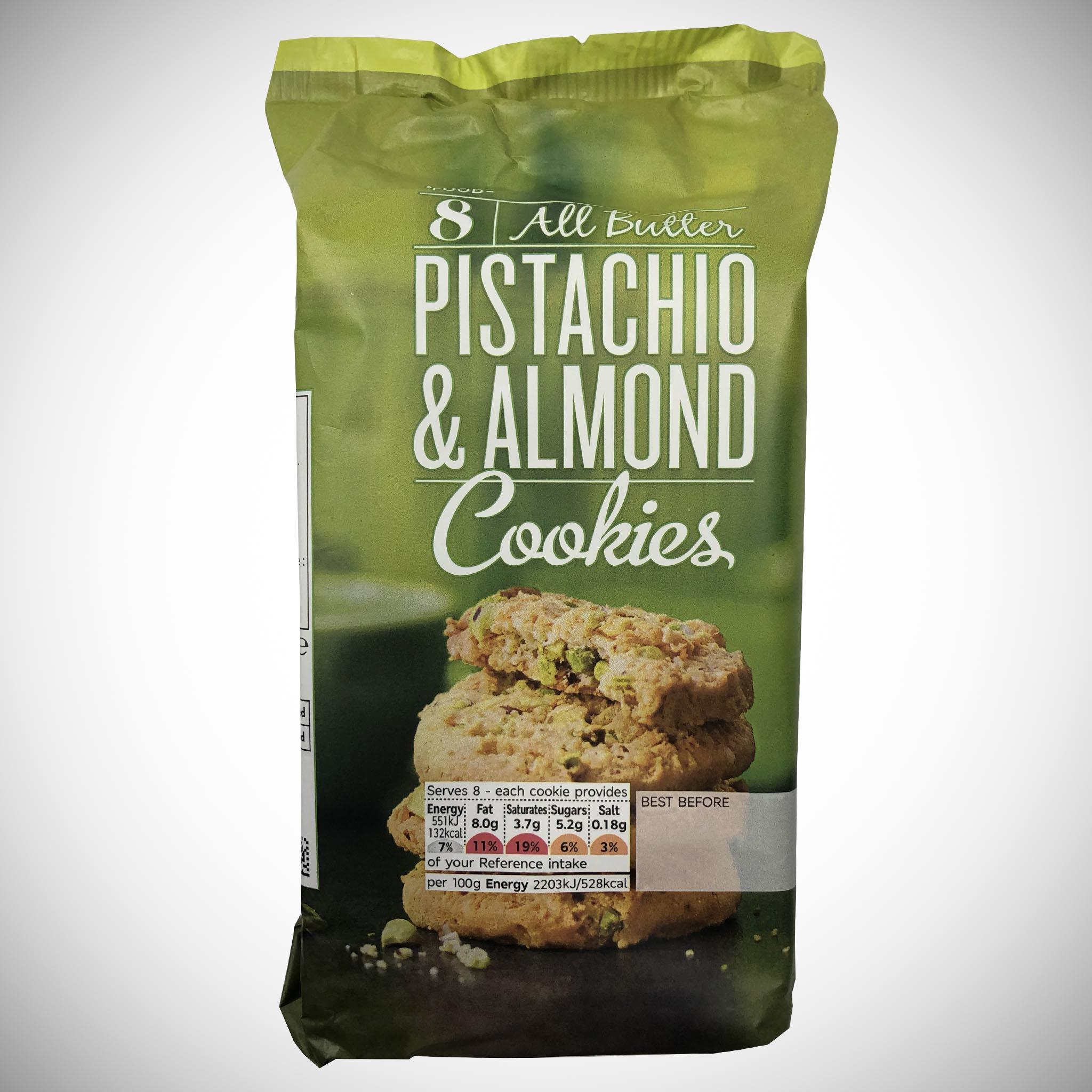 All Butter Pistachio & Almond Cookies 200g