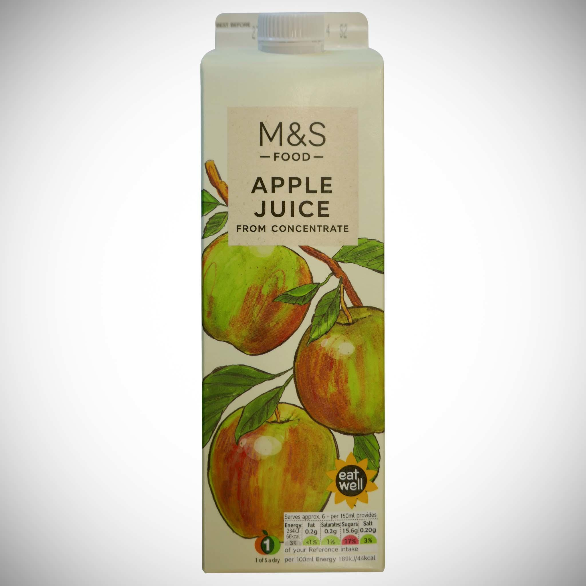 Apple Juice From Concentrate 1 litre