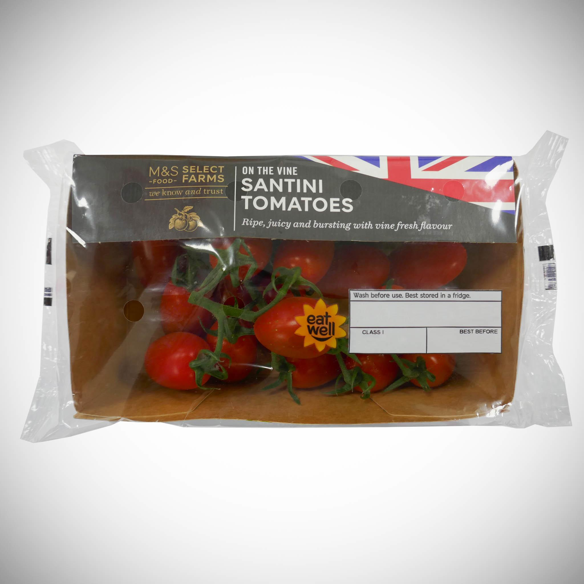 Santini Tomatoes on the Vine 250g